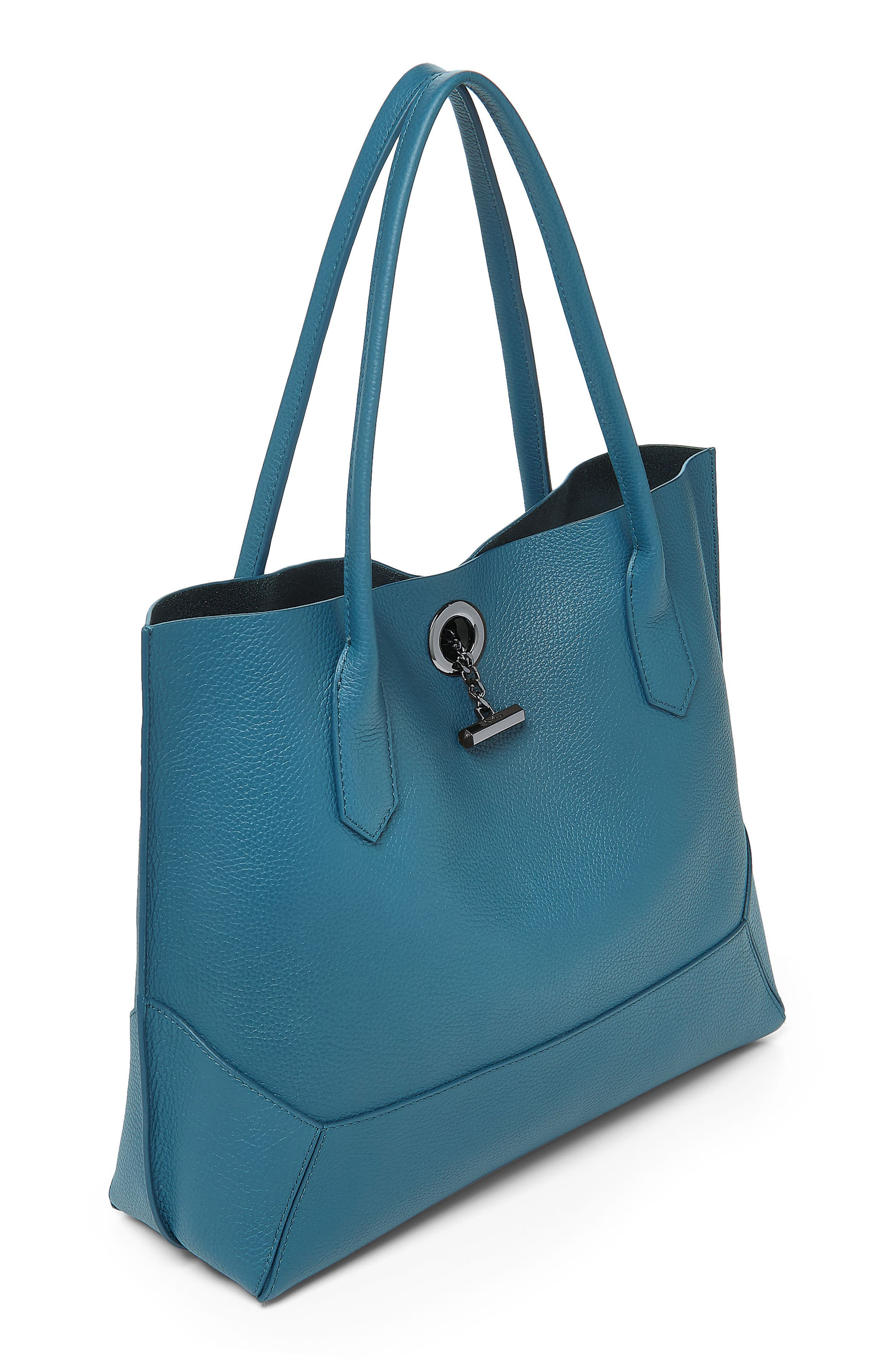Waverly Leather Tote,                             Alternate thumbnail 24, color,