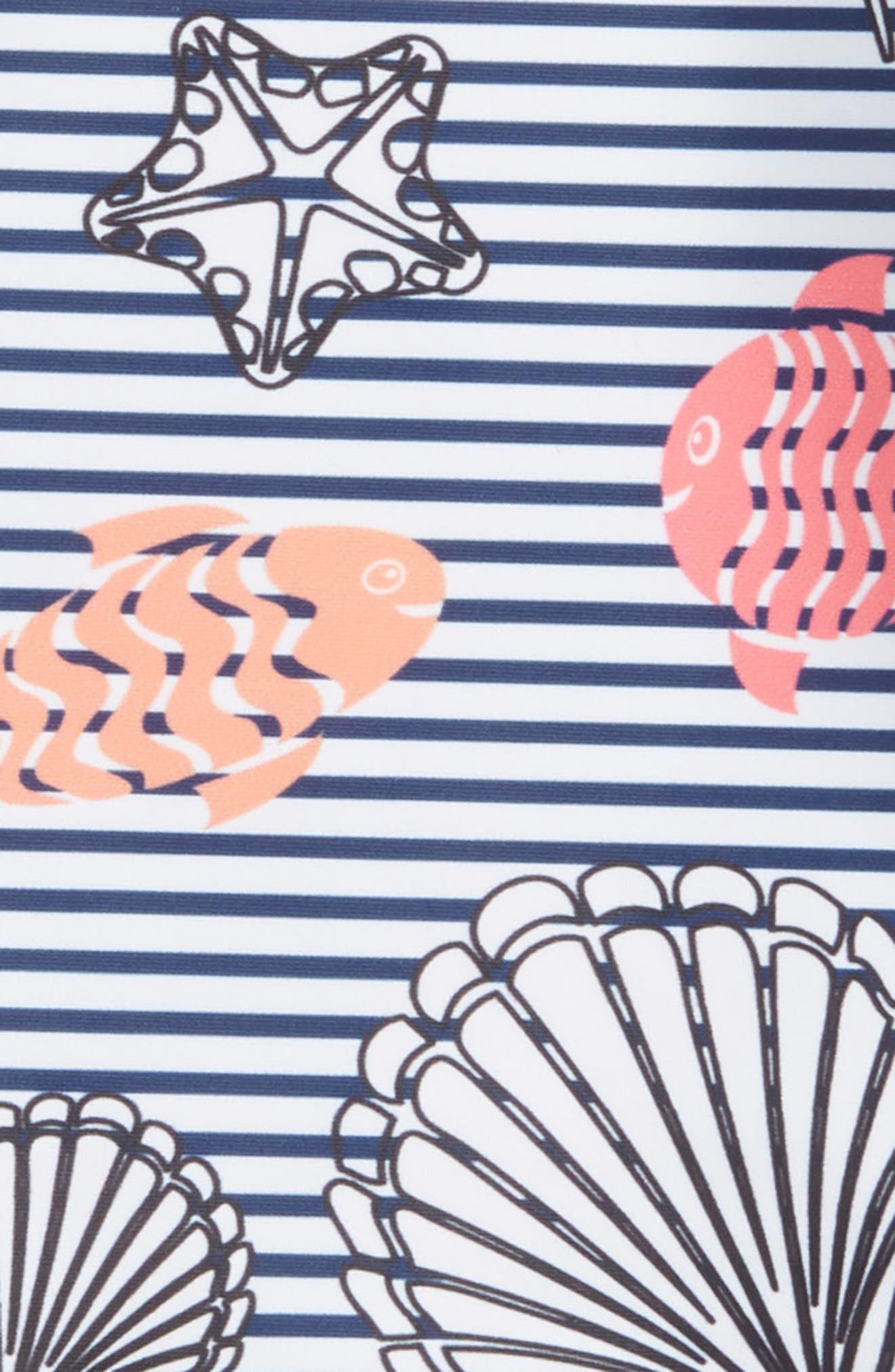 Skirted Two-Piece Rashguard Swimsuit,                             Alternate thumbnail 2, color,                             410