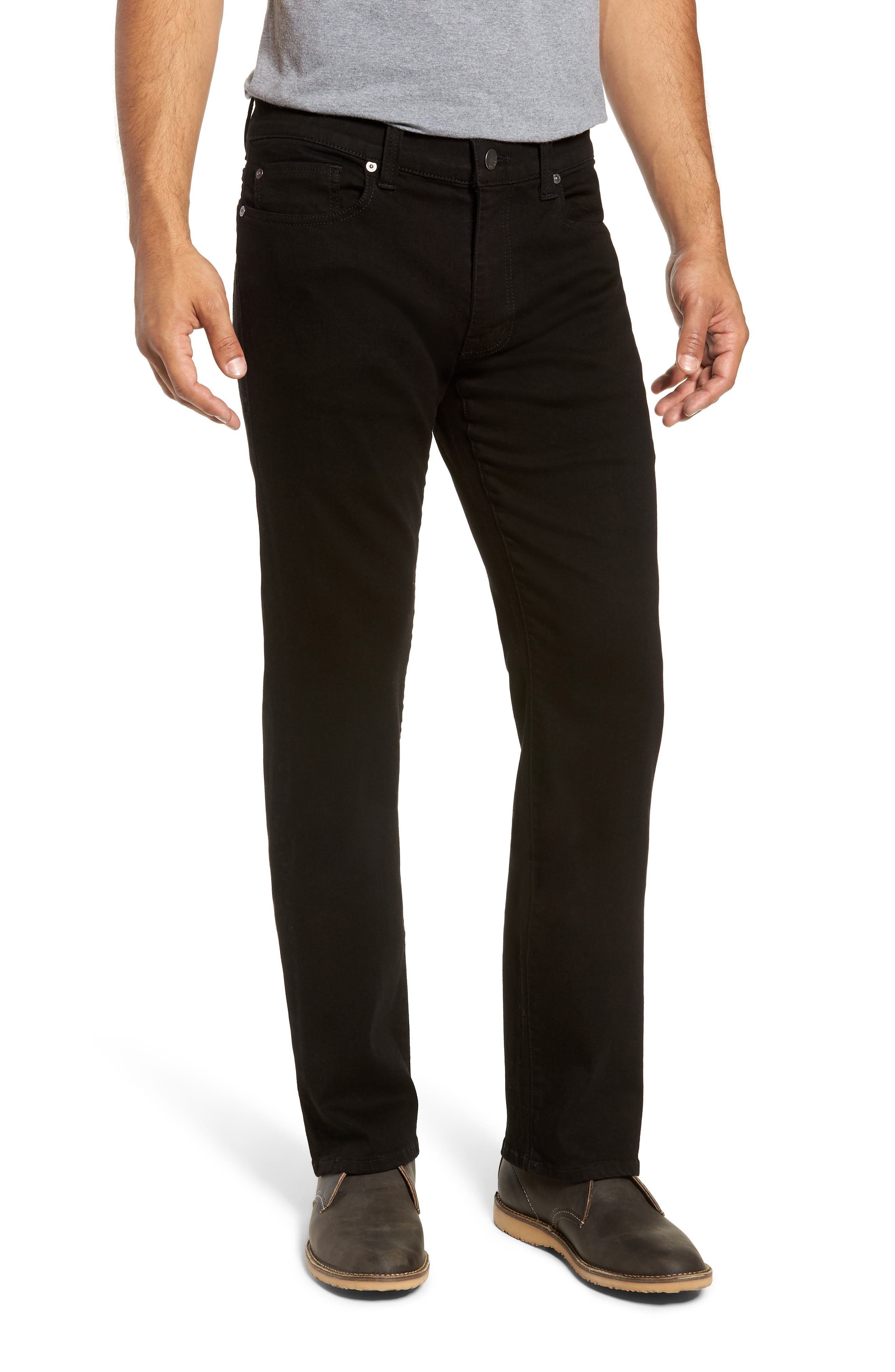 50-11 Relaxed Fit Jeans,                         Main,                         color, GOTHAM BLACK