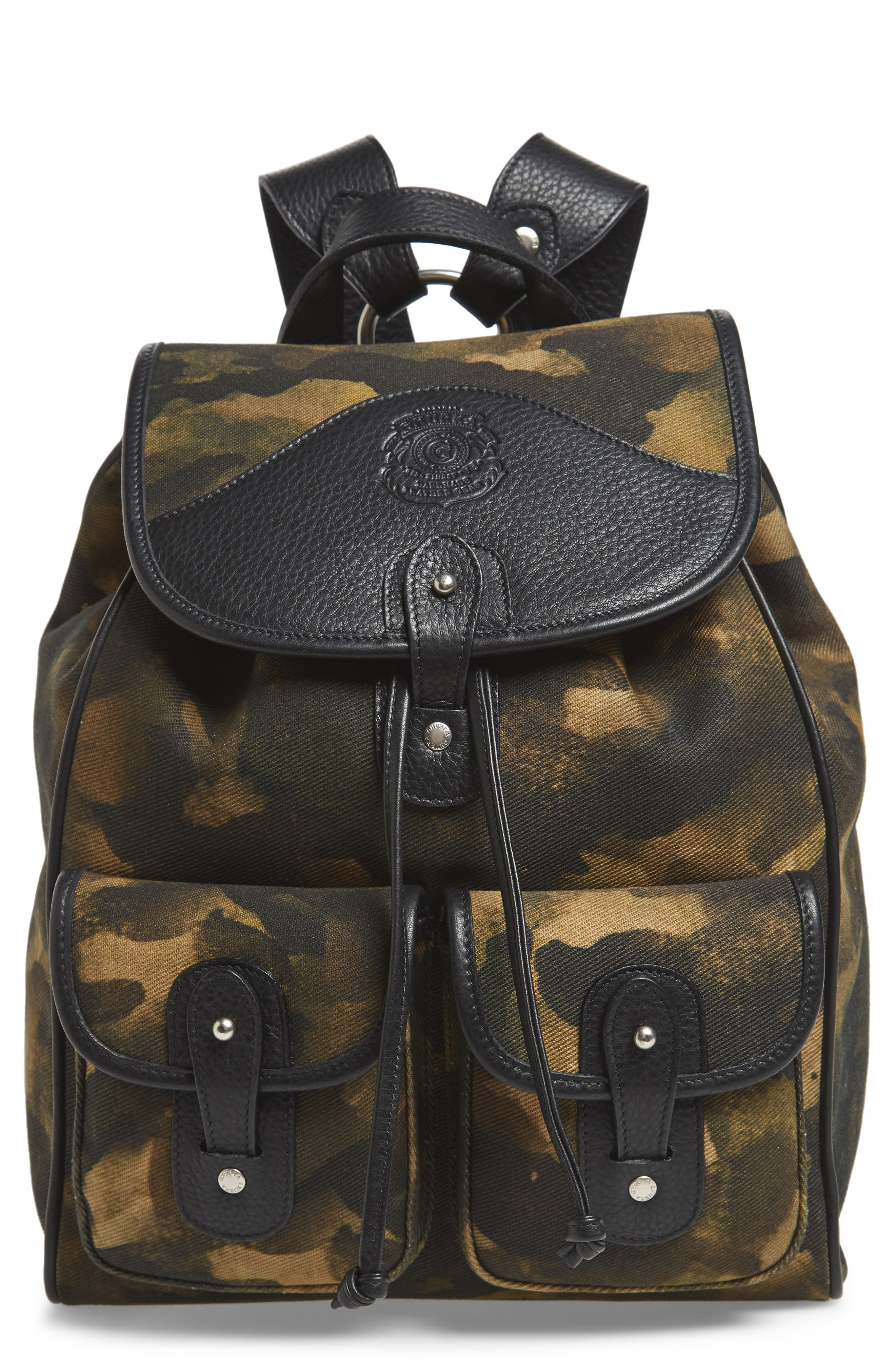 Blazer Canvas Backpack,                         Main,                         color, CAMO SOLID
