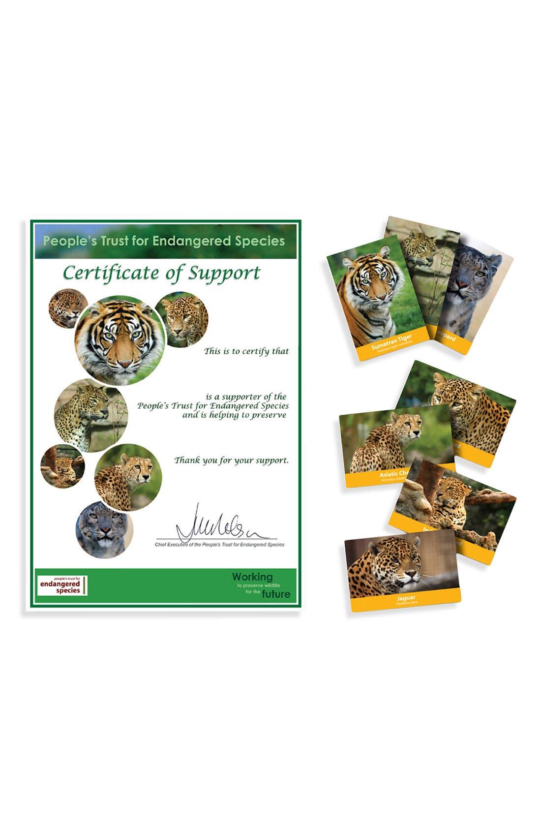 'Adopt a Big Cat' Gift Box,                             Alternate thumbnail 2, color,                             000