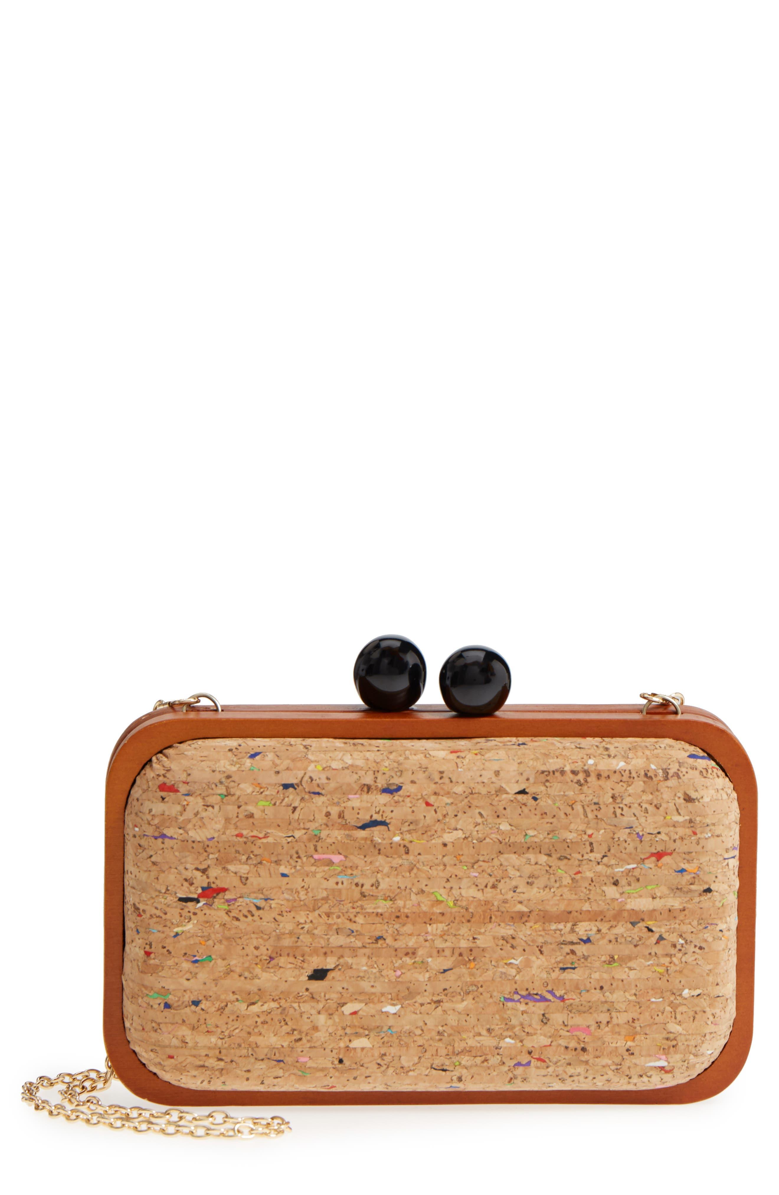 Kiss Lock Box Clutch,                         Main,                         color, 241