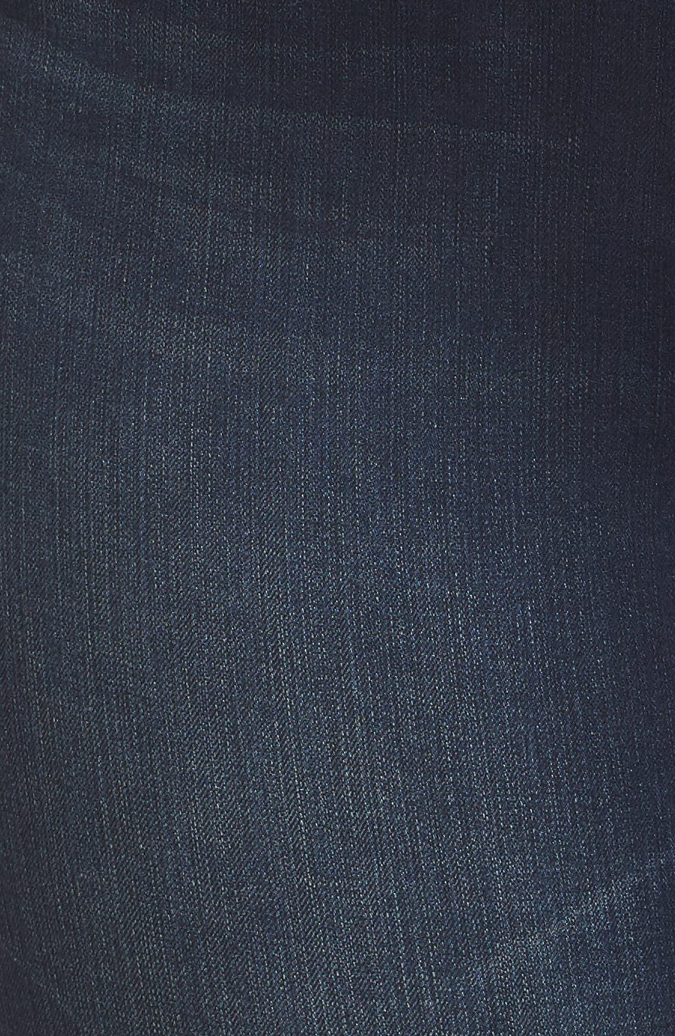 Tummyless Skinny Jeans,                             Alternate thumbnail 6, color,                             JE TAIME