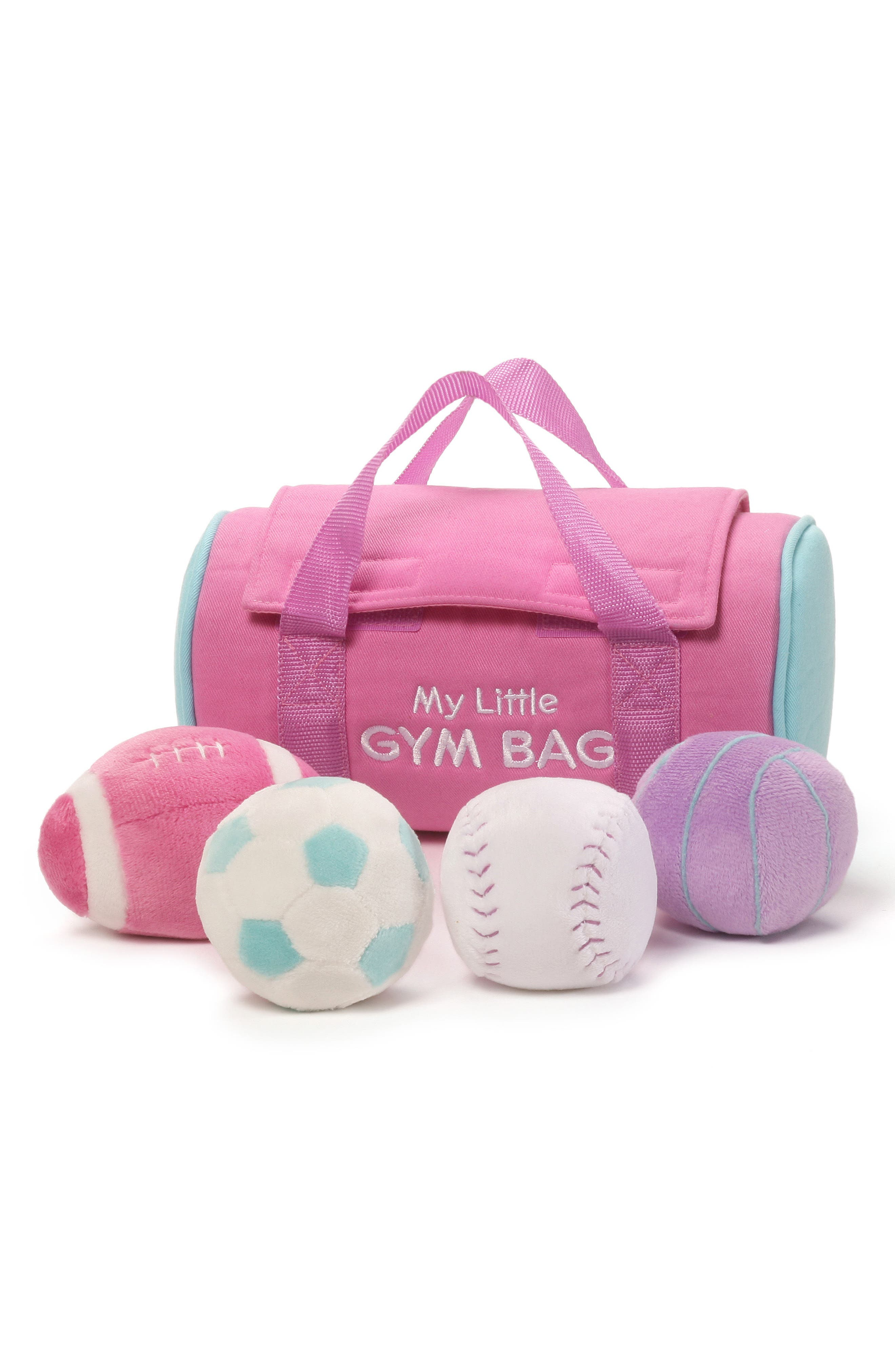 My Little Gym Bag Play Set,                             Main thumbnail 1, color,                             PINK