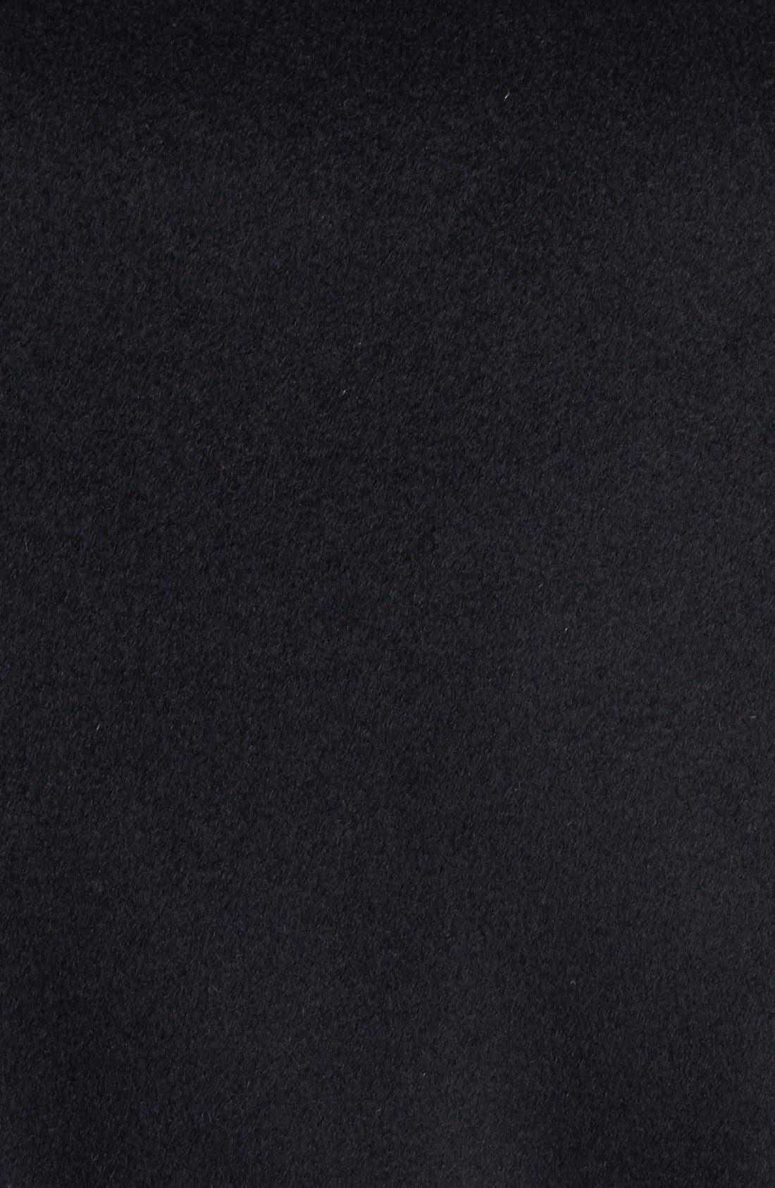 BOSS HUGO BOSS 'Sintrax' Wool Blend Coat,                             Alternate thumbnail 3, color,                             001