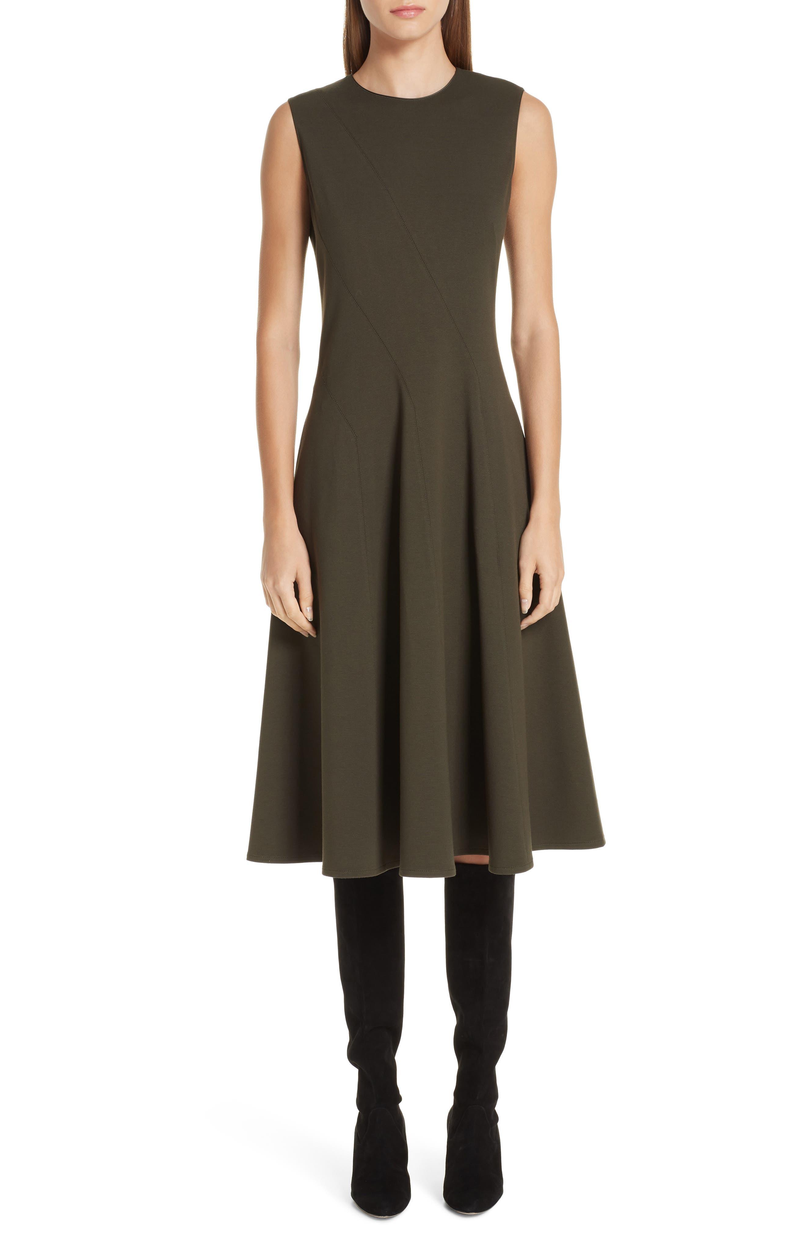 Lafayette 148 New York Topenga Punto Milano Dress, Green