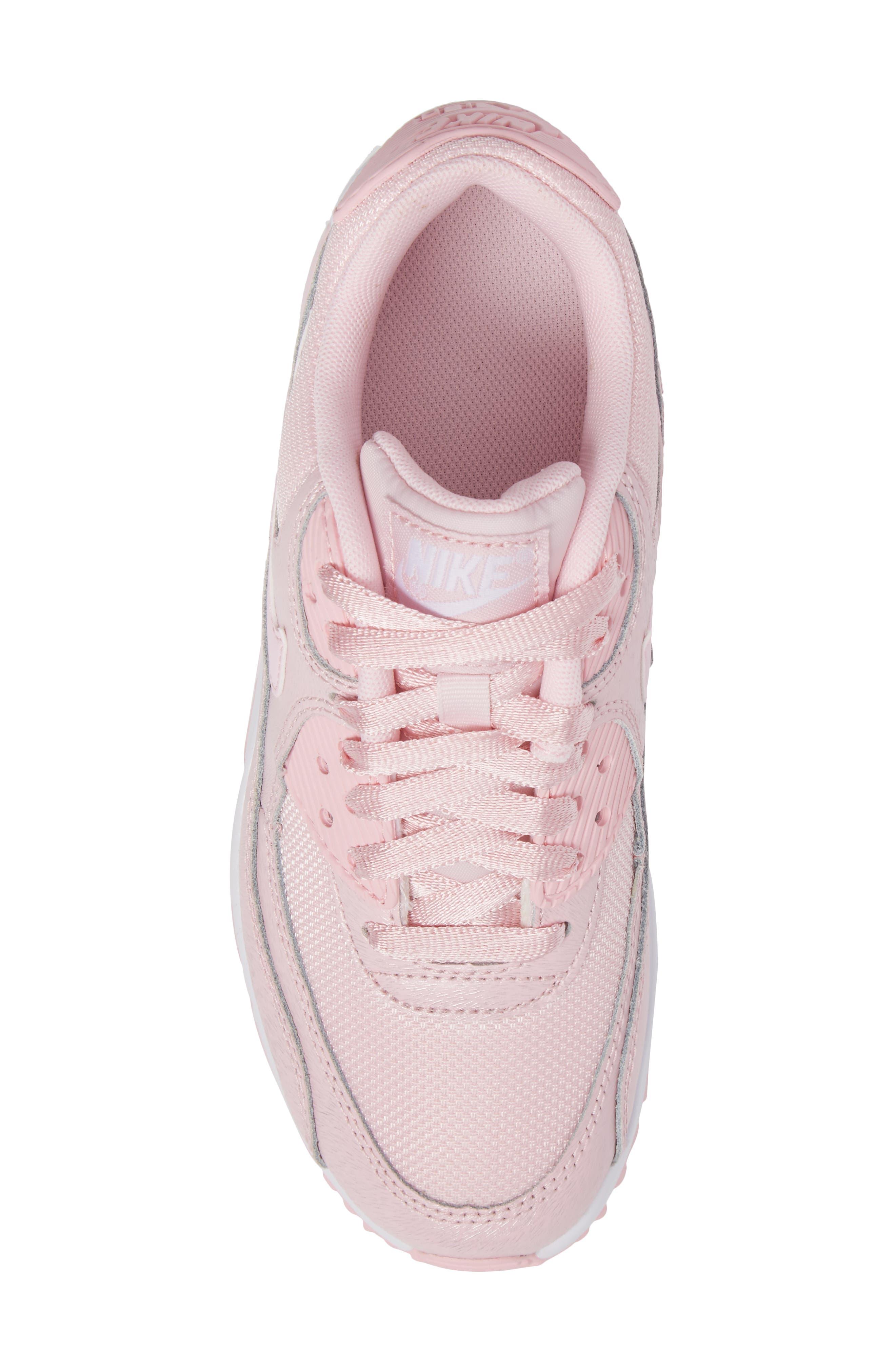 Air Max 90 Mesh Sneaker,                             Alternate thumbnail 5, color,                             650