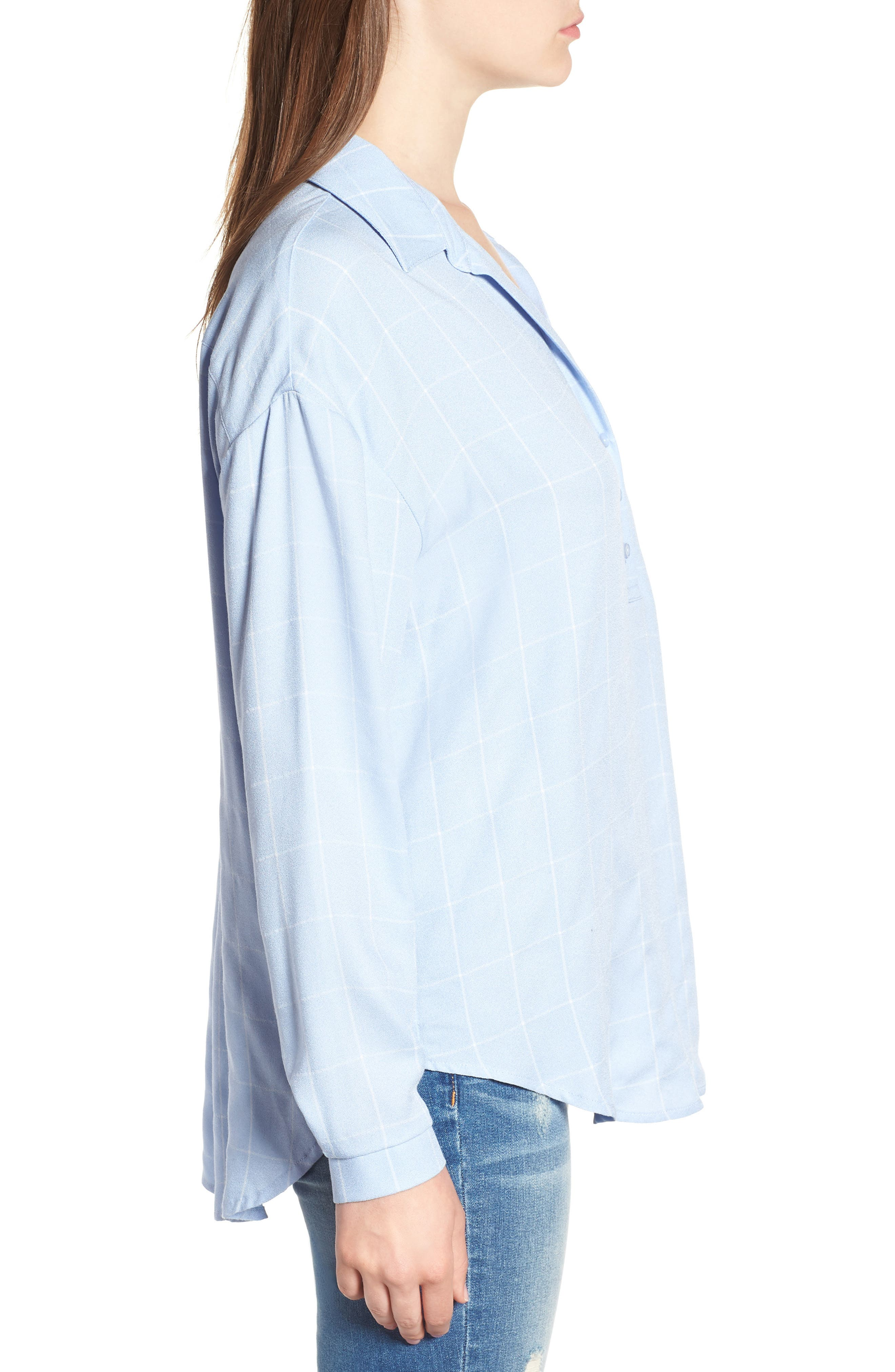 Slouchy Pocket Henley,                             Alternate thumbnail 16, color,