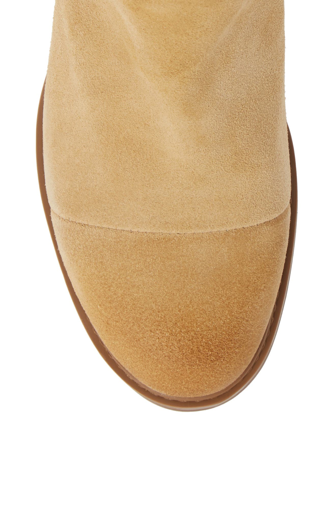 TIMBERLAND,                             Sutherlin Bay Slouch Chelsea Bootie,                             Alternate thumbnail 5, color,                             ICED COFFEE SUEDE