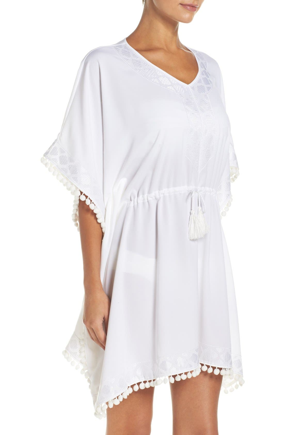 UPF 50 Tunic Cover-Up,                             Alternate thumbnail 5, color,