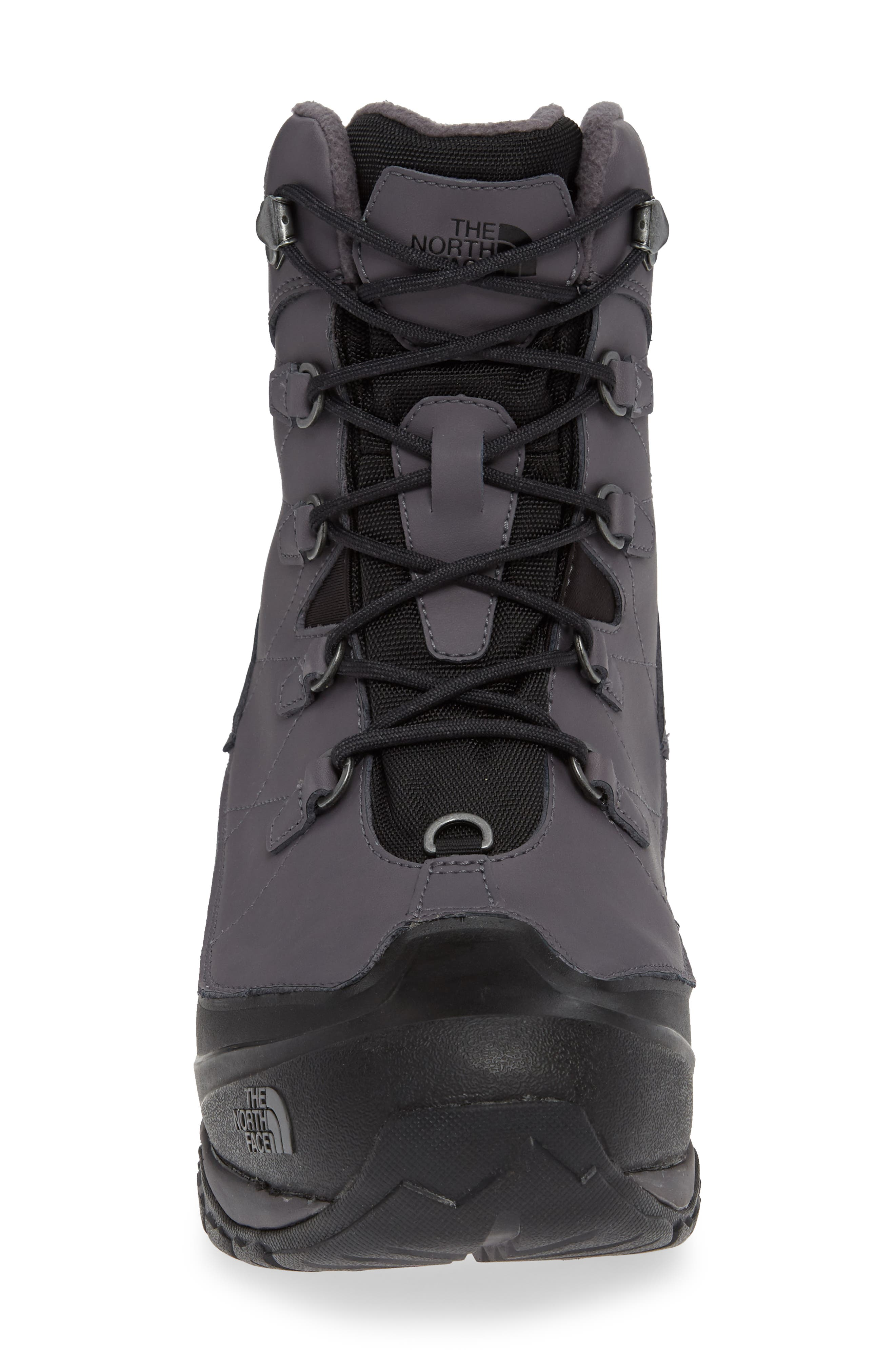 Chilkat Evo Waterproof Insulated Snow Boot,                             Alternate thumbnail 4, color,                             BLACKENED PEARL/ PHANTOM GREY