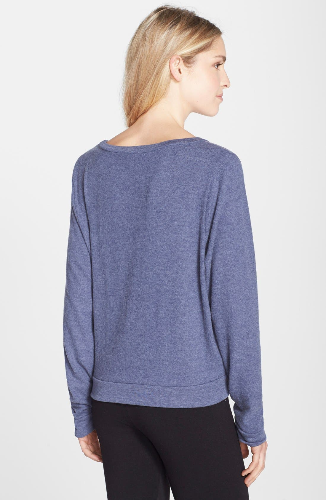 Brushed Hacci Sweatshirt,                             Alternate thumbnail 35, color,