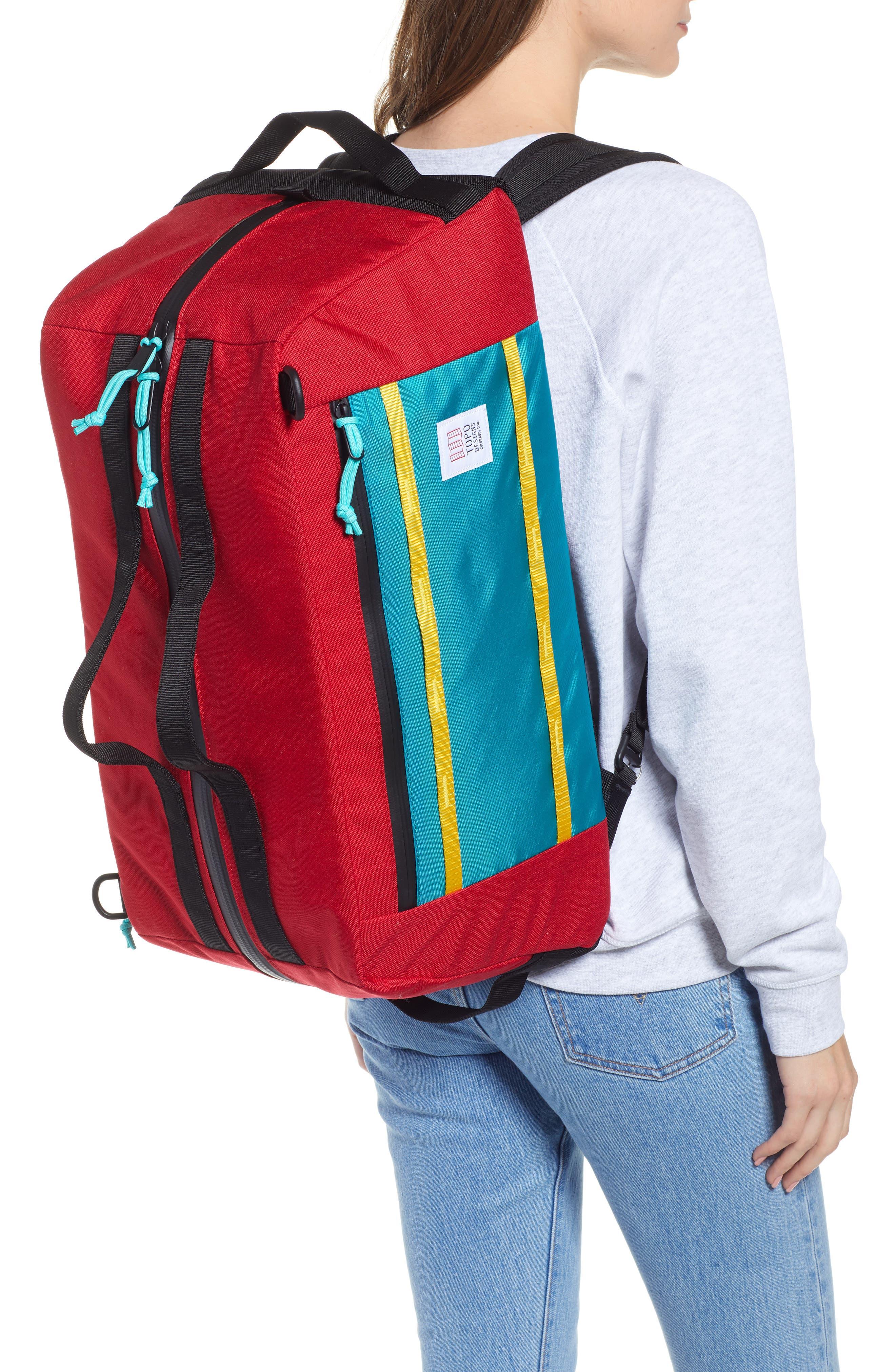 Mountain 40L Convertible Duffel Bag,                             Alternate thumbnail 2, color,                             600