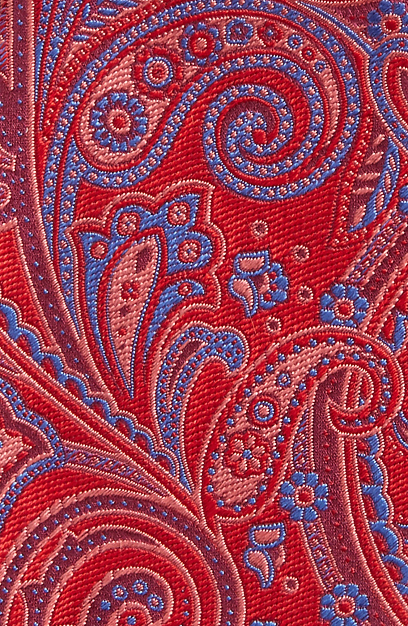 Chester Paisley Silk Bow Tie,                             Alternate thumbnail 3, color,
