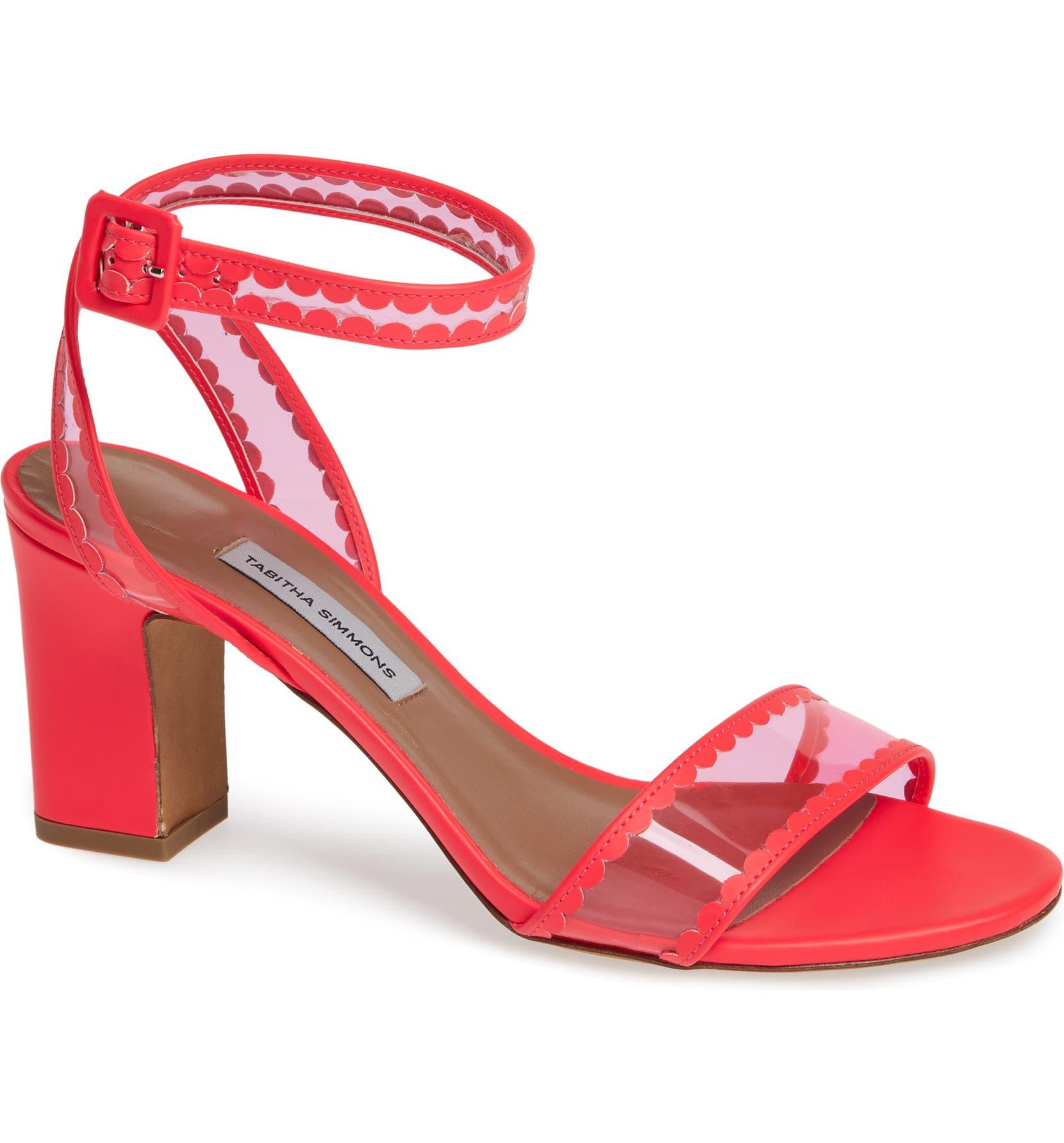 c64126ce8d64 Tabitha Simmons Leticia Clear Ankle Strap Sandal (Women)