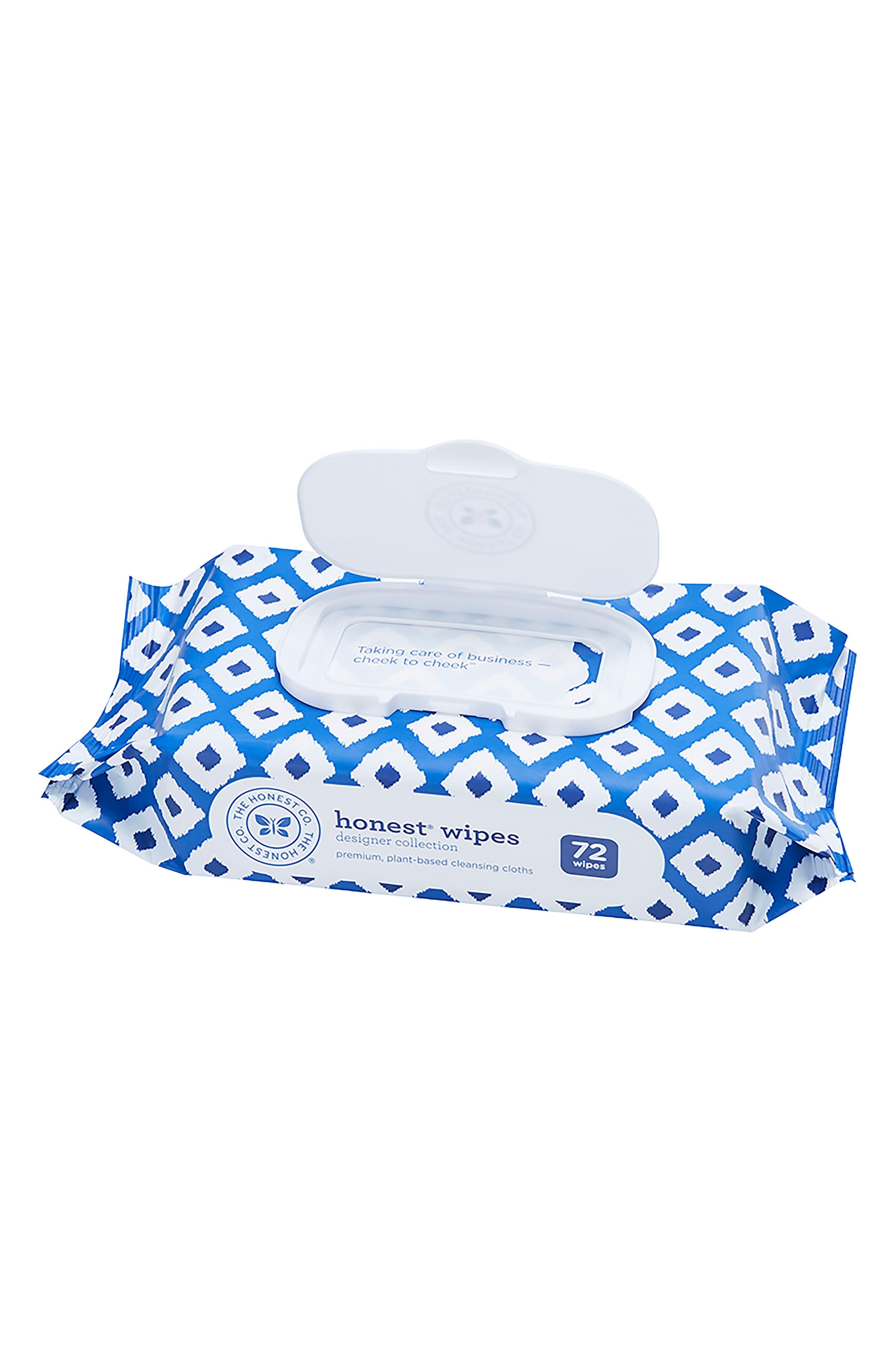 Designer Collection Wipes,                         Main,                         color, BLUE