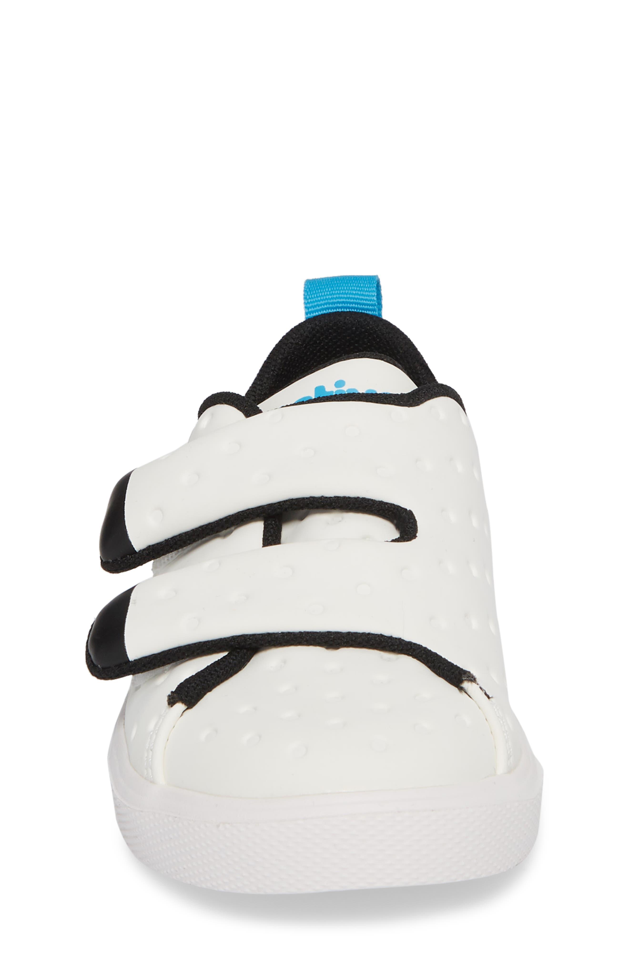 Monaco Sneaker,                             Alternate thumbnail 4, color,                             SHELL WHITE/ JIFFY BLACK