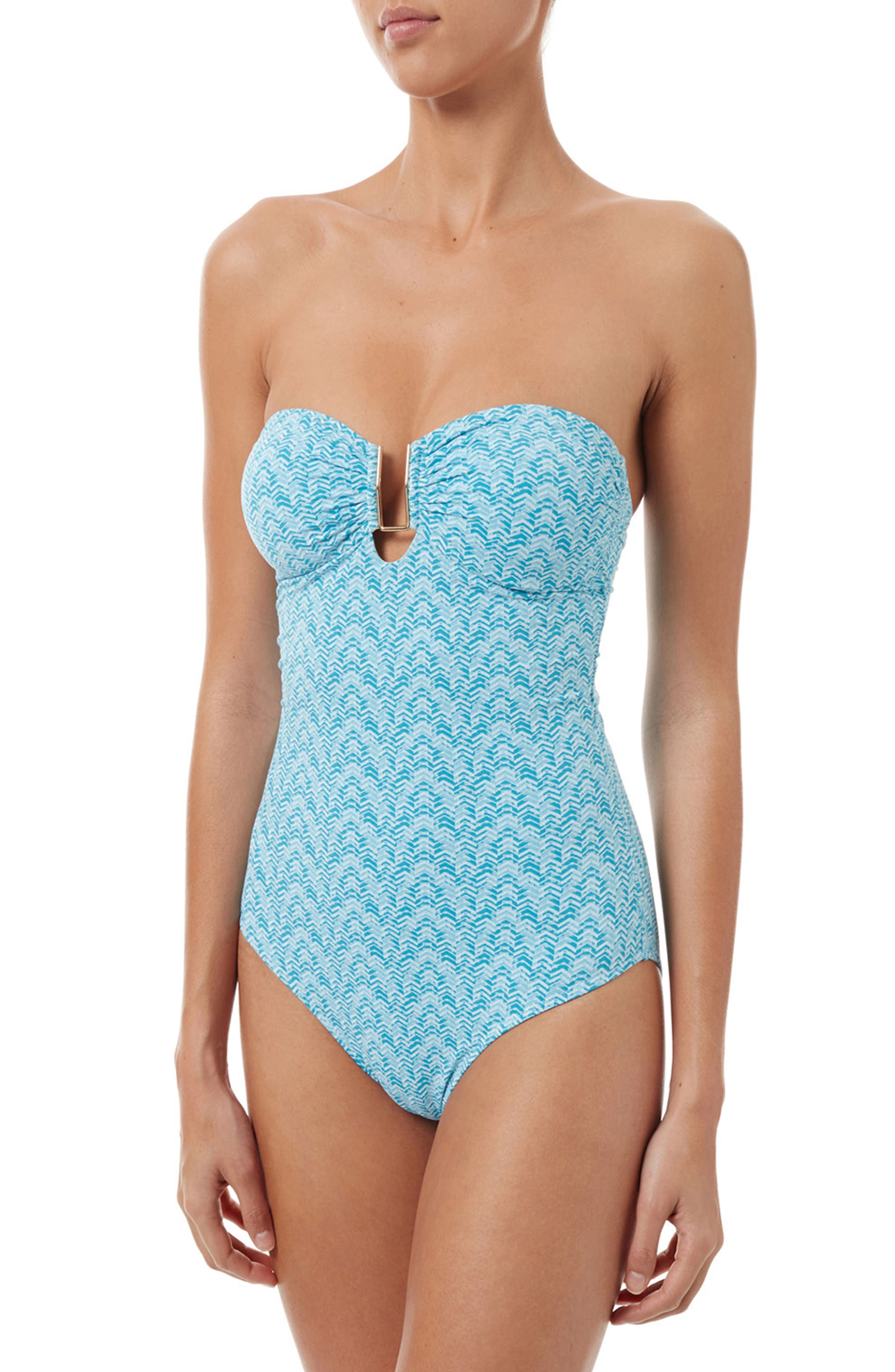 Argentina One-Piece Swimsuit,                         Main,                         color, 407