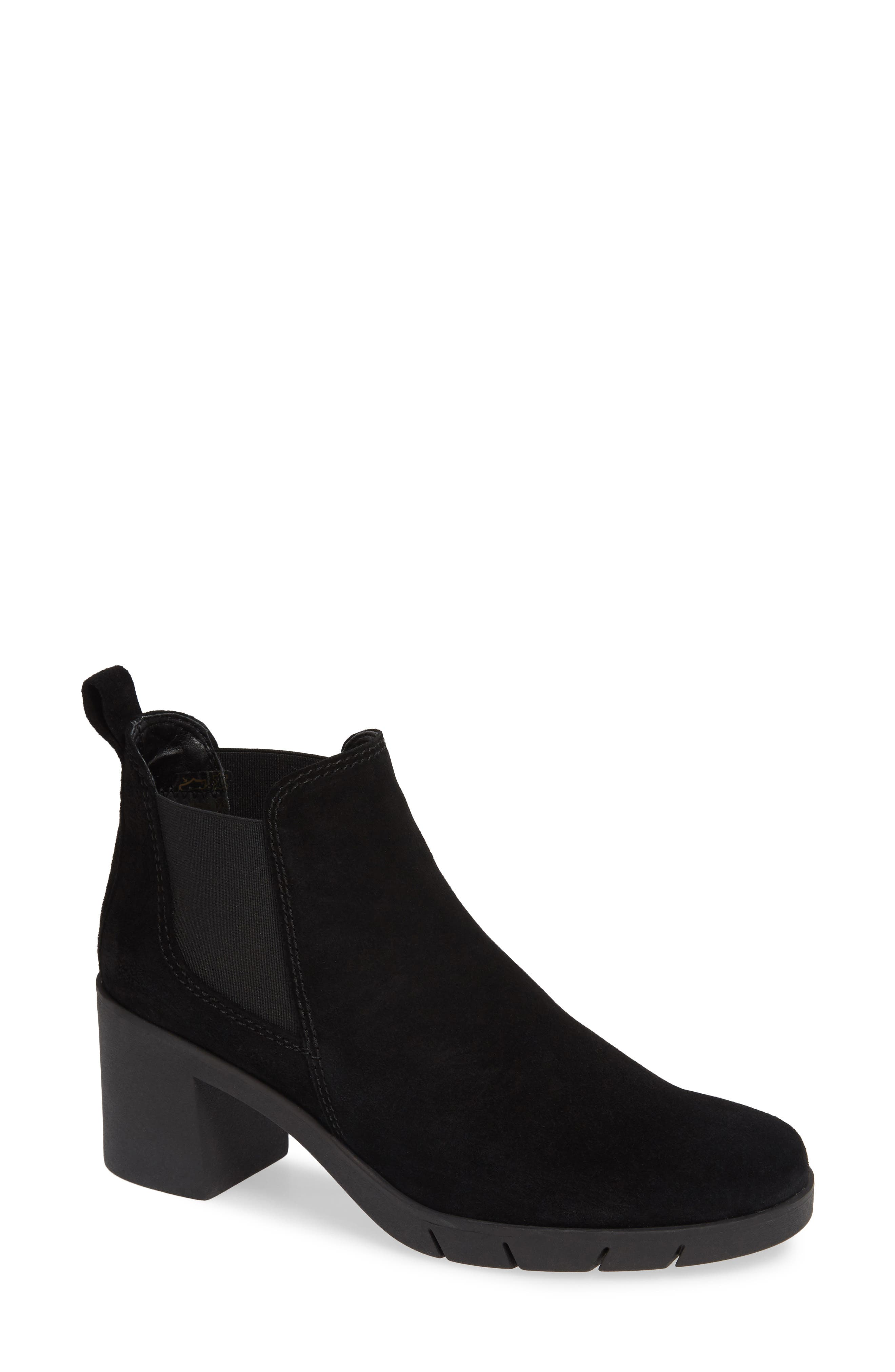 The Flexx Speak Out Chelsea Bootie- Black