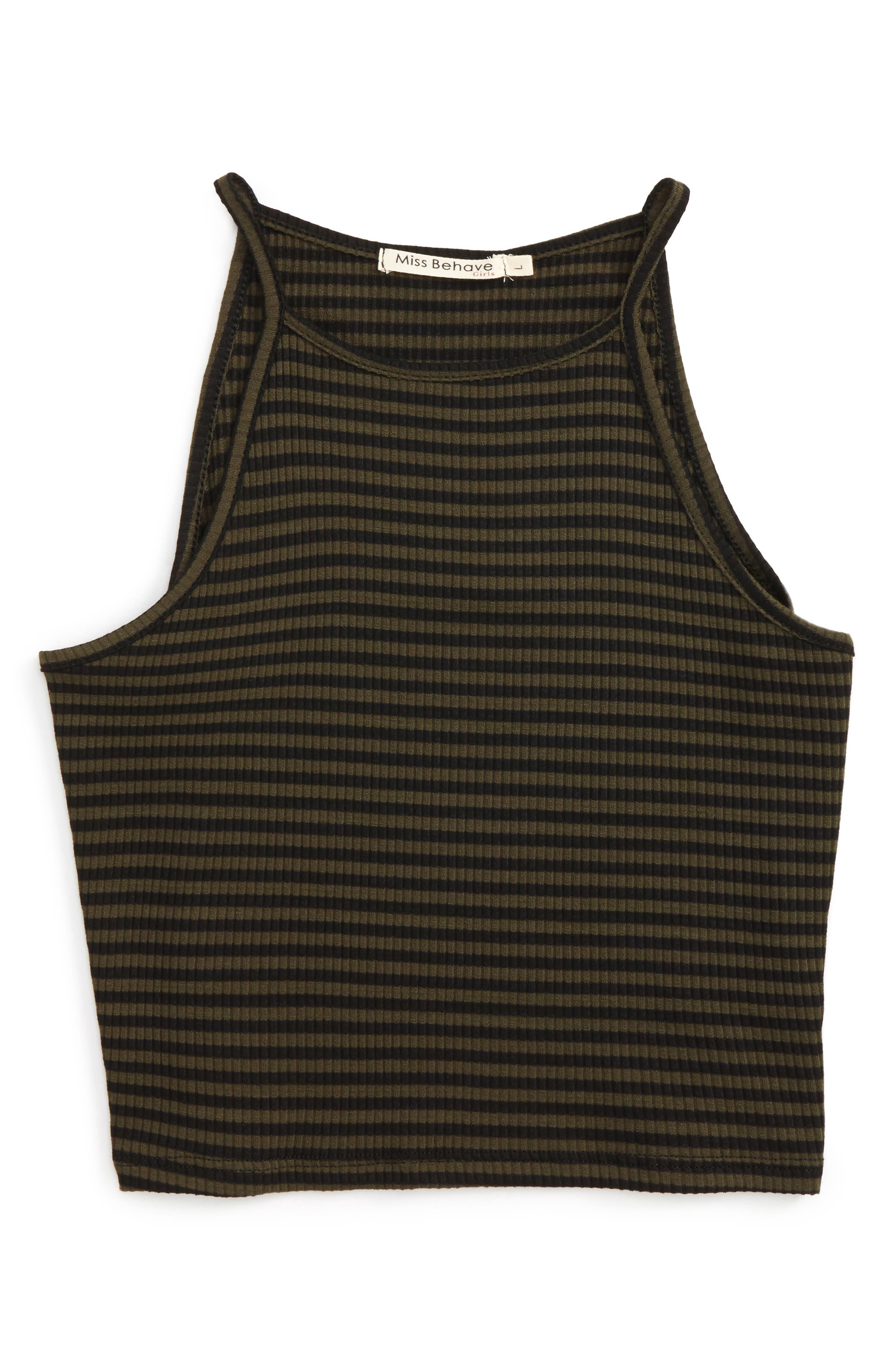 Alice Stripe Tank Top,                         Main,                         color, 001