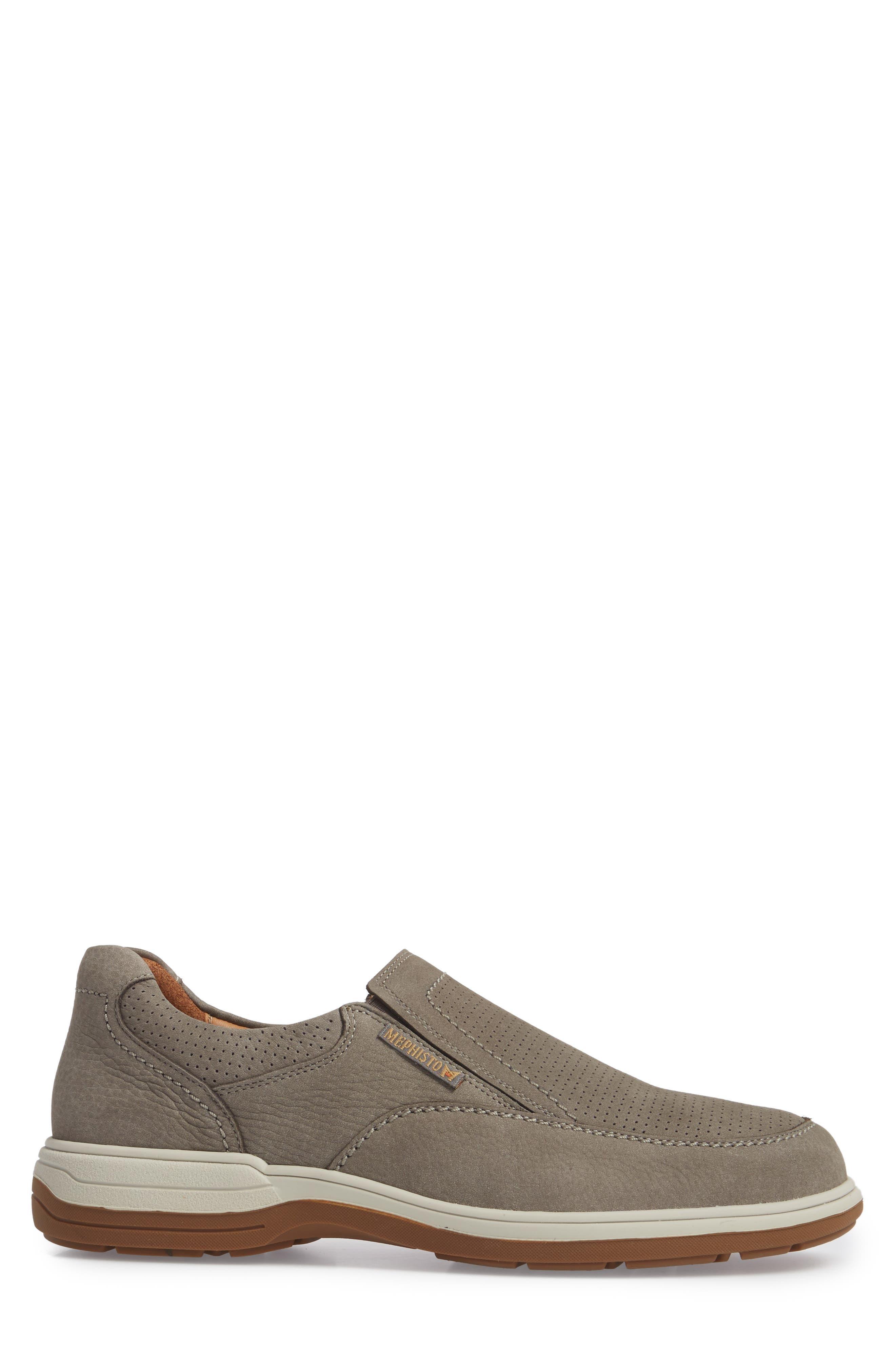 Davy Perforated Slip-On Sneaker,                             Alternate thumbnail 3, color,                             051