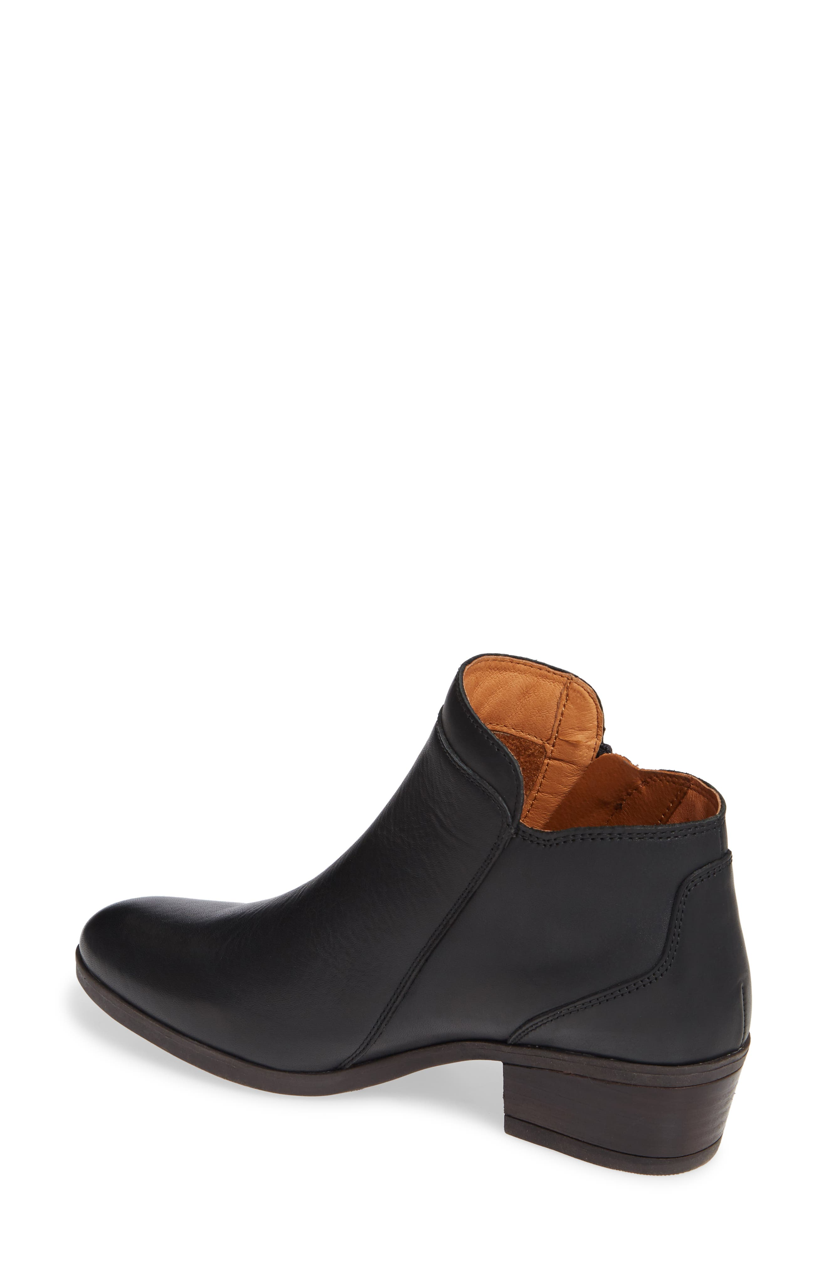 Daroca Bootie,                             Alternate thumbnail 2, color,                             BLACK LEATHER