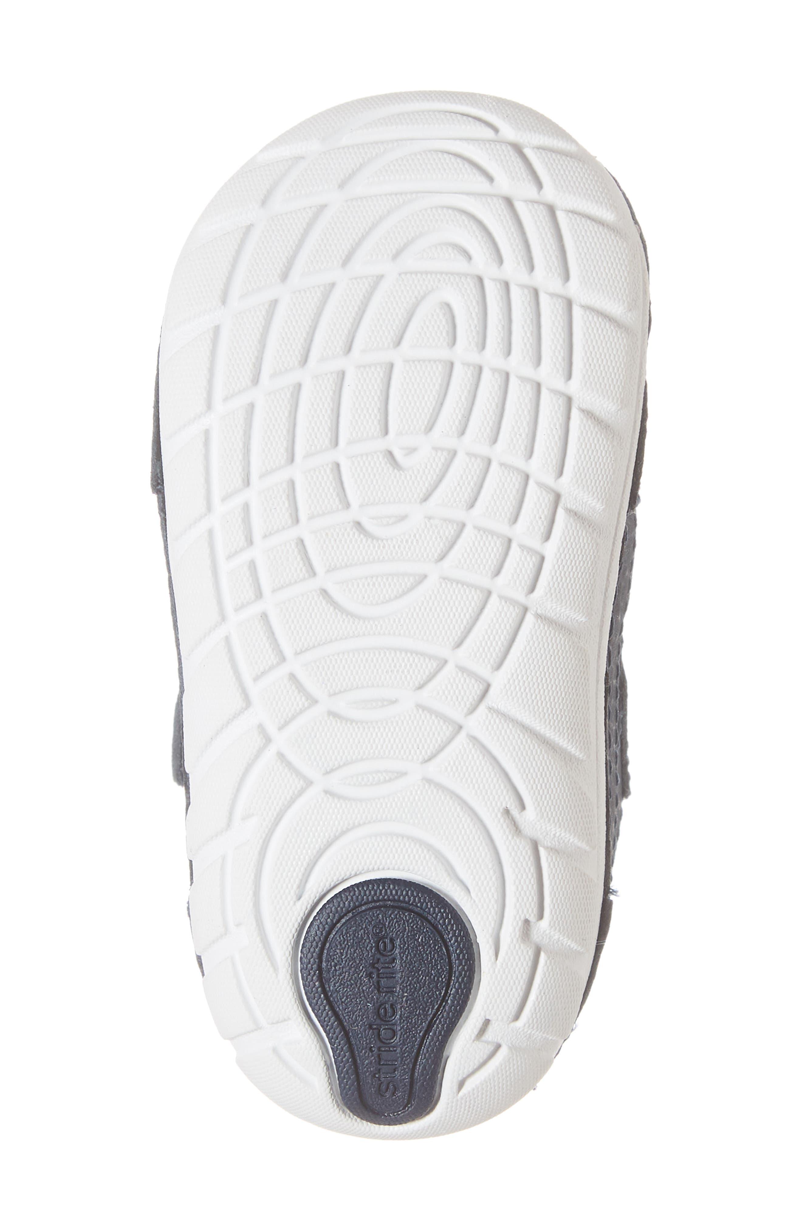 STRIDE RITE,                             Soft Motion<sup>™</sup> Jamie Sneaker,                             Alternate thumbnail 6, color,                             NAVY/ WHITE