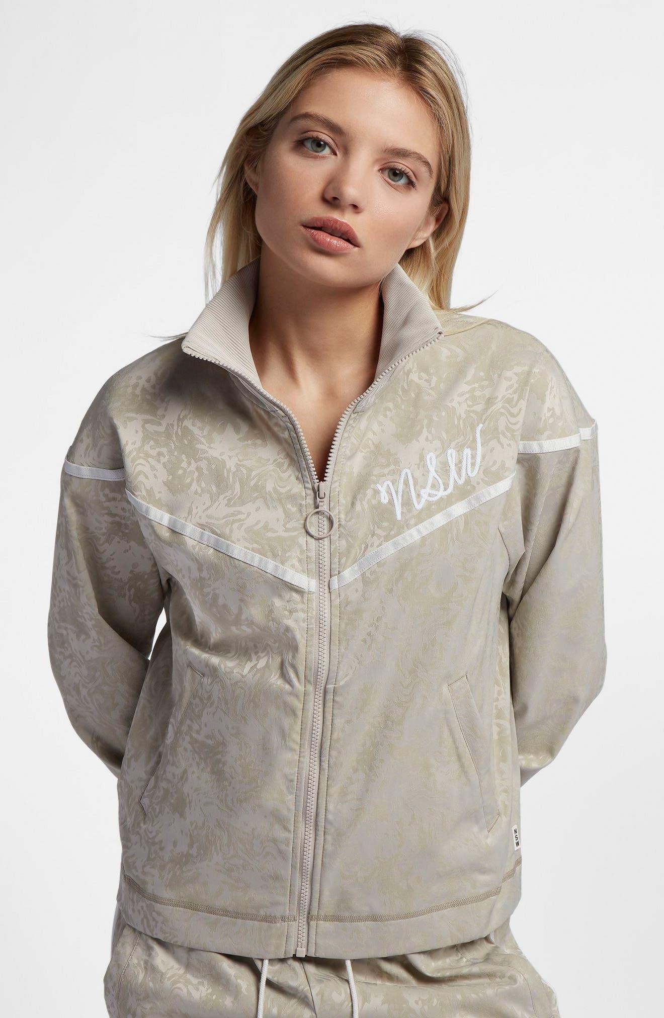 Sportswear NSW Women's Track Jacket,                             Alternate thumbnail 8, color,                             201