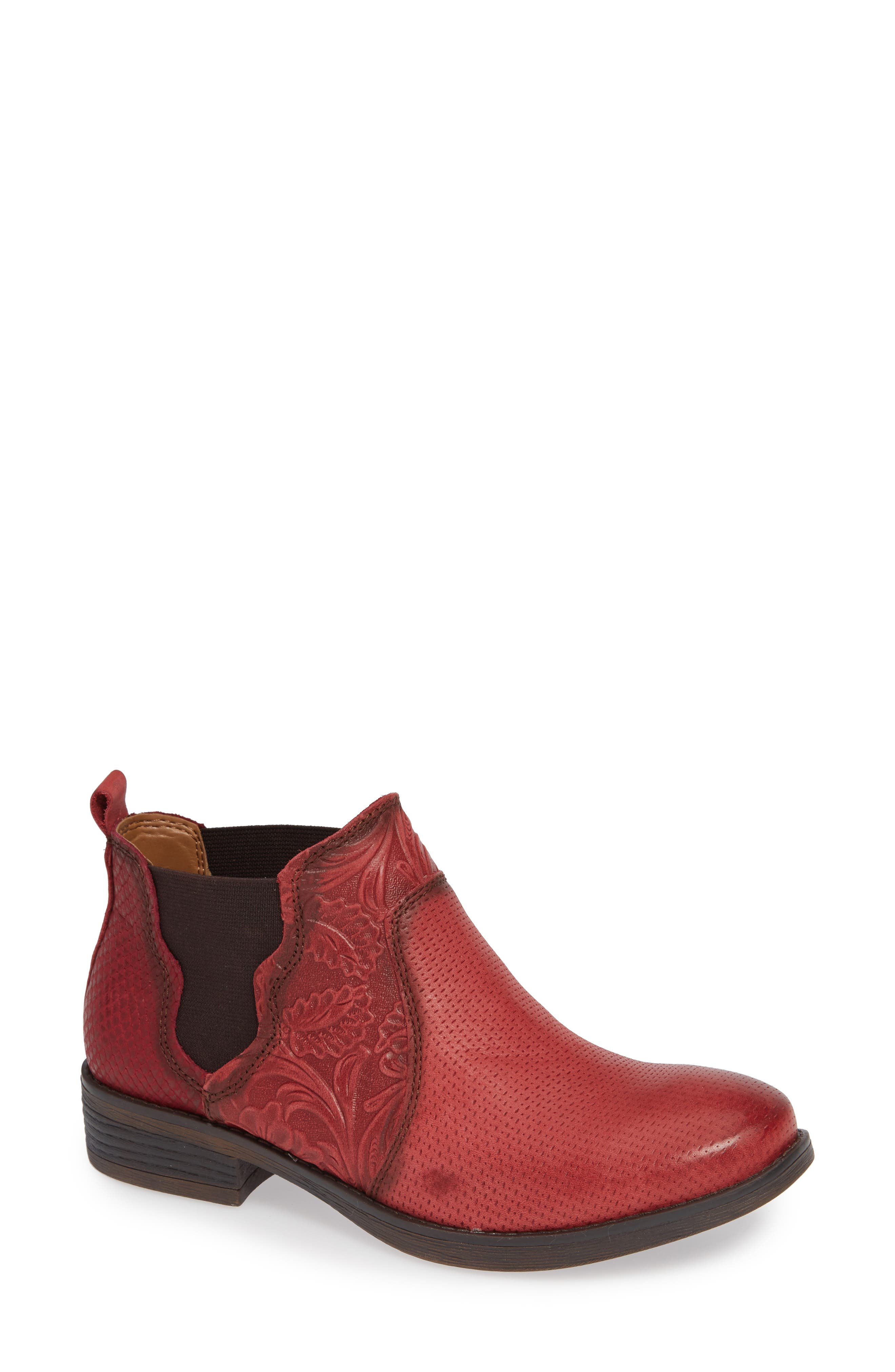 Comfortiva Tenny Bootie, Red