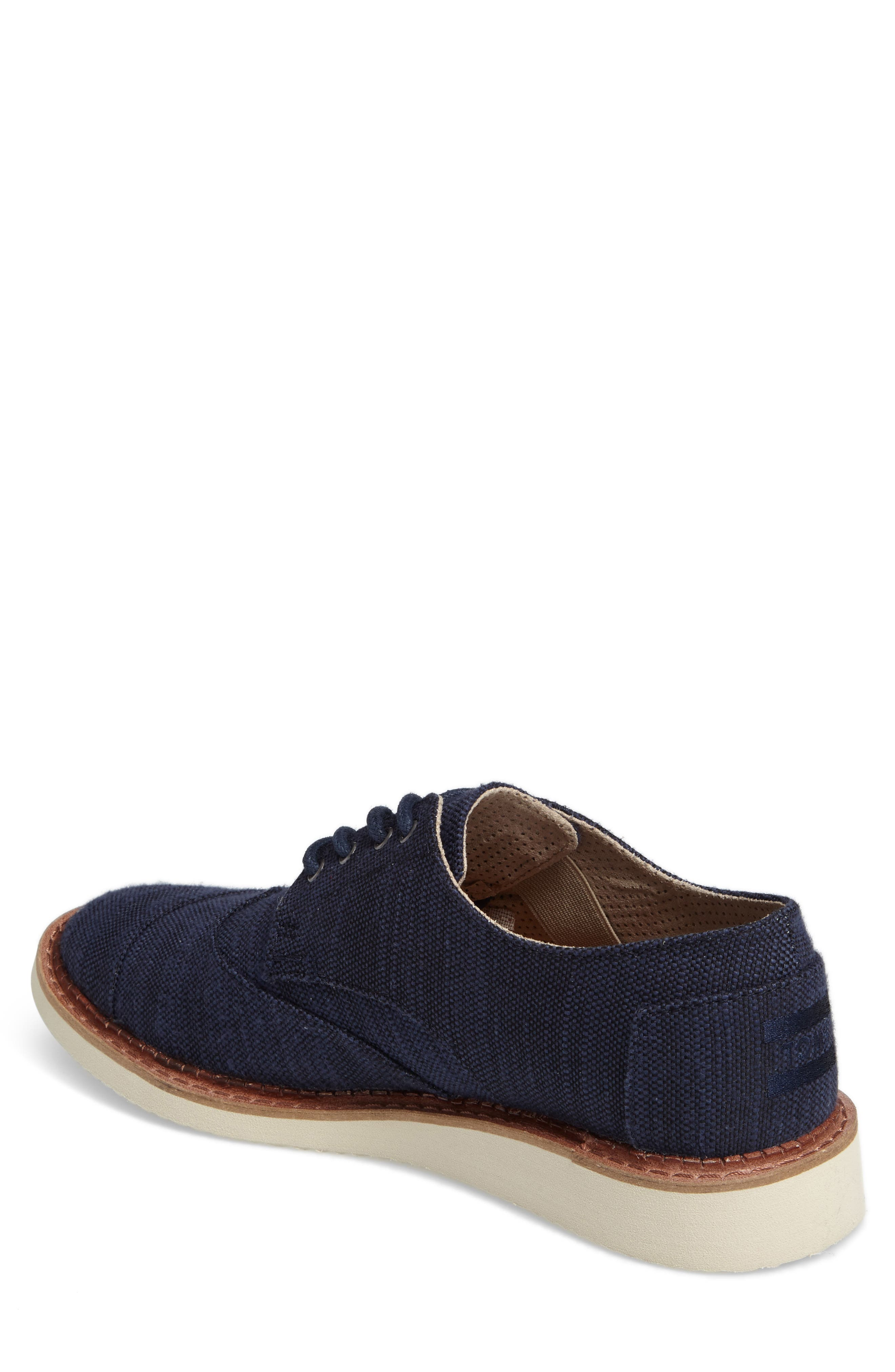 'Classic Brogue' Cotton Twill Derby,                             Alternate thumbnail 28, color,