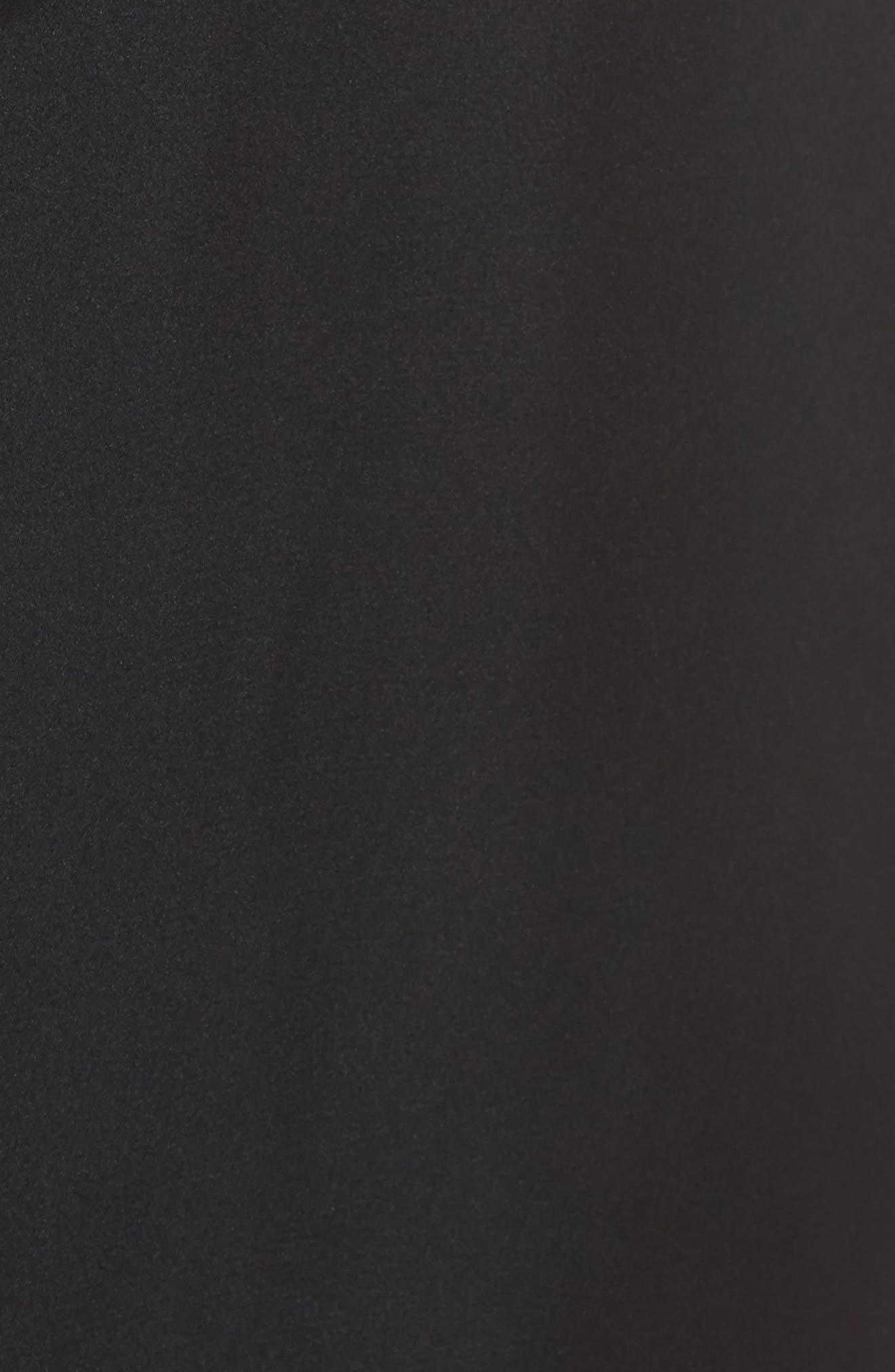 Satin Midi Robe,                             Alternate thumbnail 5, color,                             001