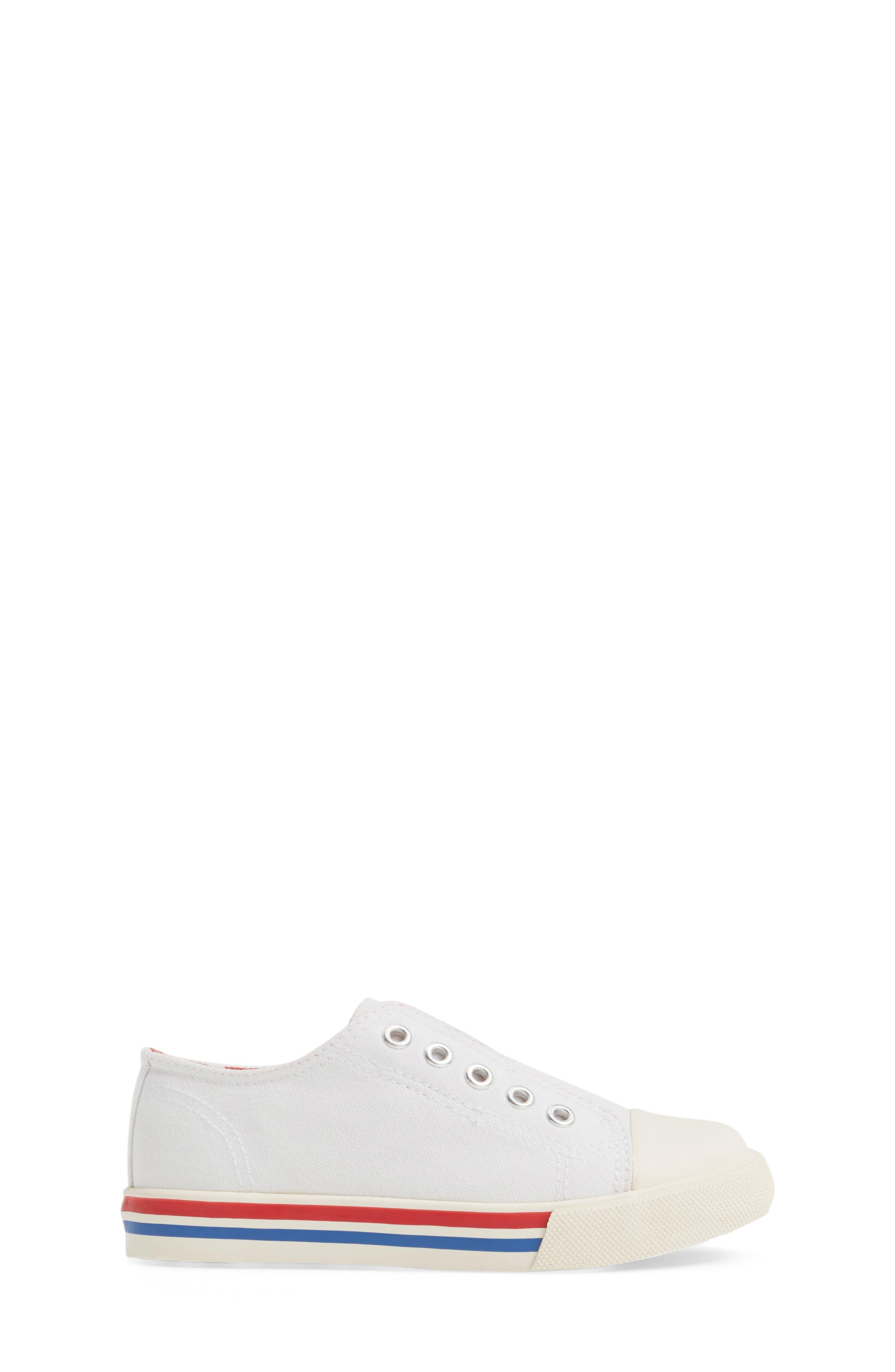 Laceless Sneaker,                             Alternate thumbnail 3, color,                             100