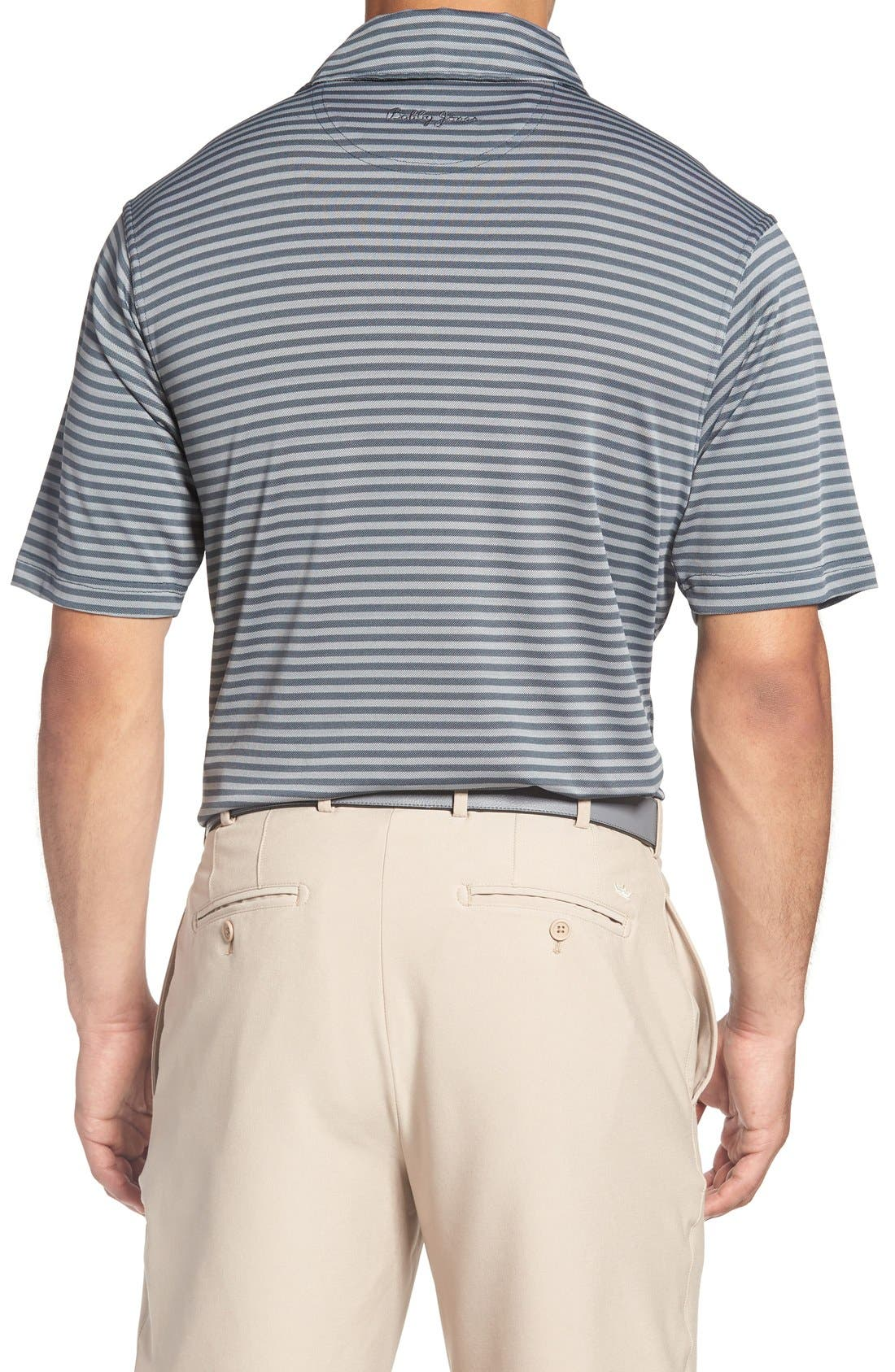 XH2O Feed Stripe Stretch Golf Polo,                             Alternate thumbnail 23, color,