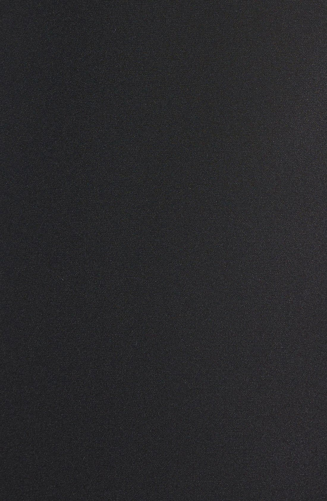 'Becky' Long Tuxedo Blazer,                             Alternate thumbnail 3, color,                             001