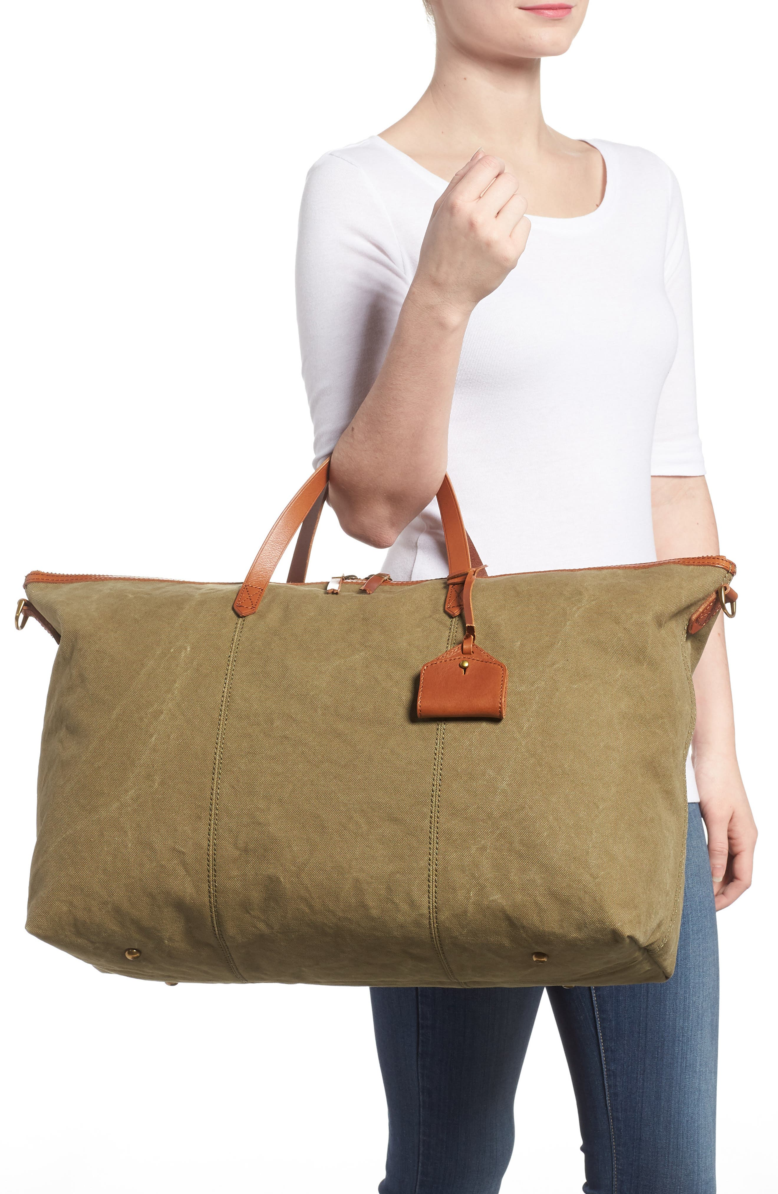 The Transport Canvas Weekend Bag,                             Alternate thumbnail 2, color,