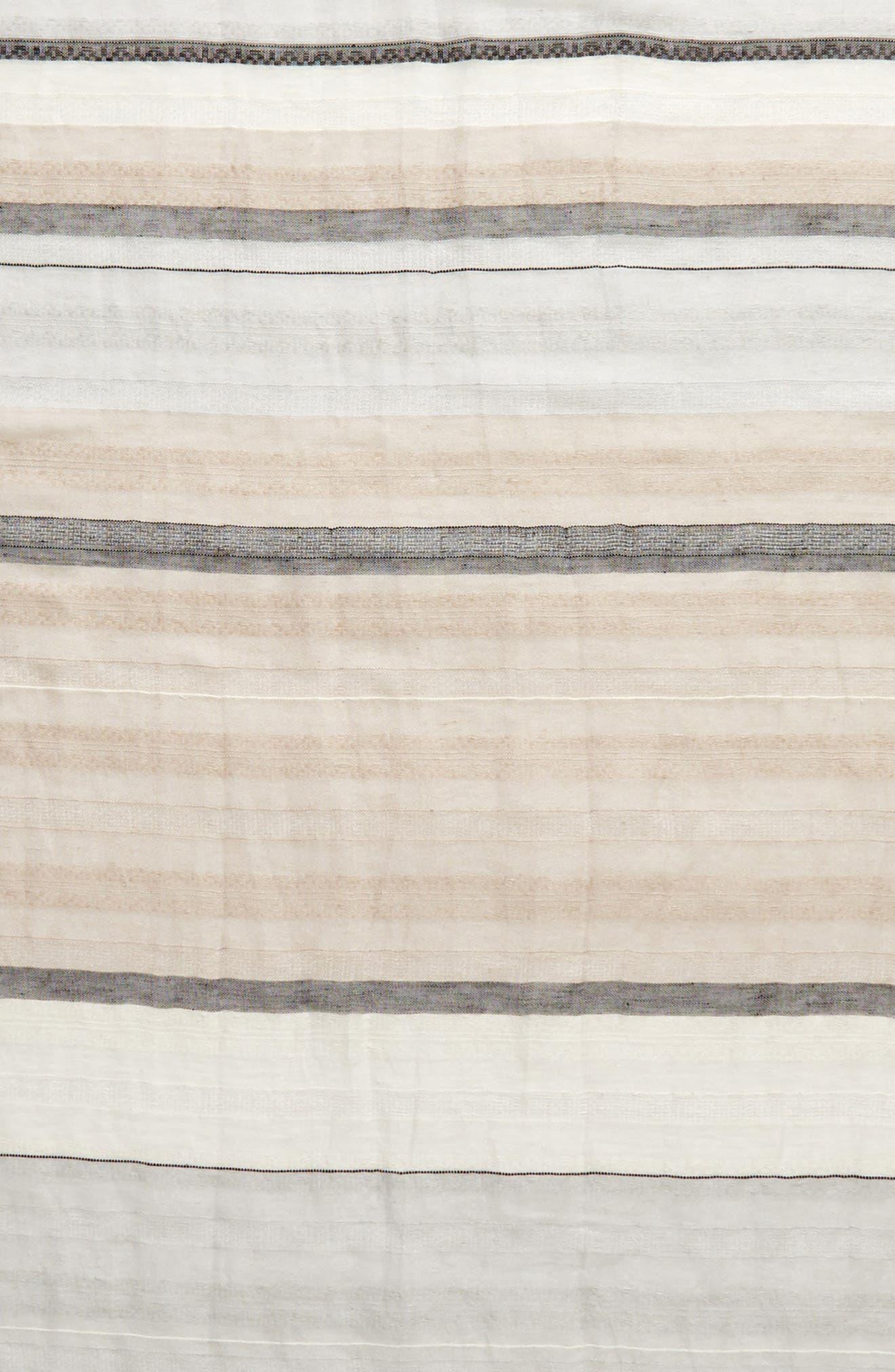 Stripe Scarf,                             Alternate thumbnail 4, color,                             030