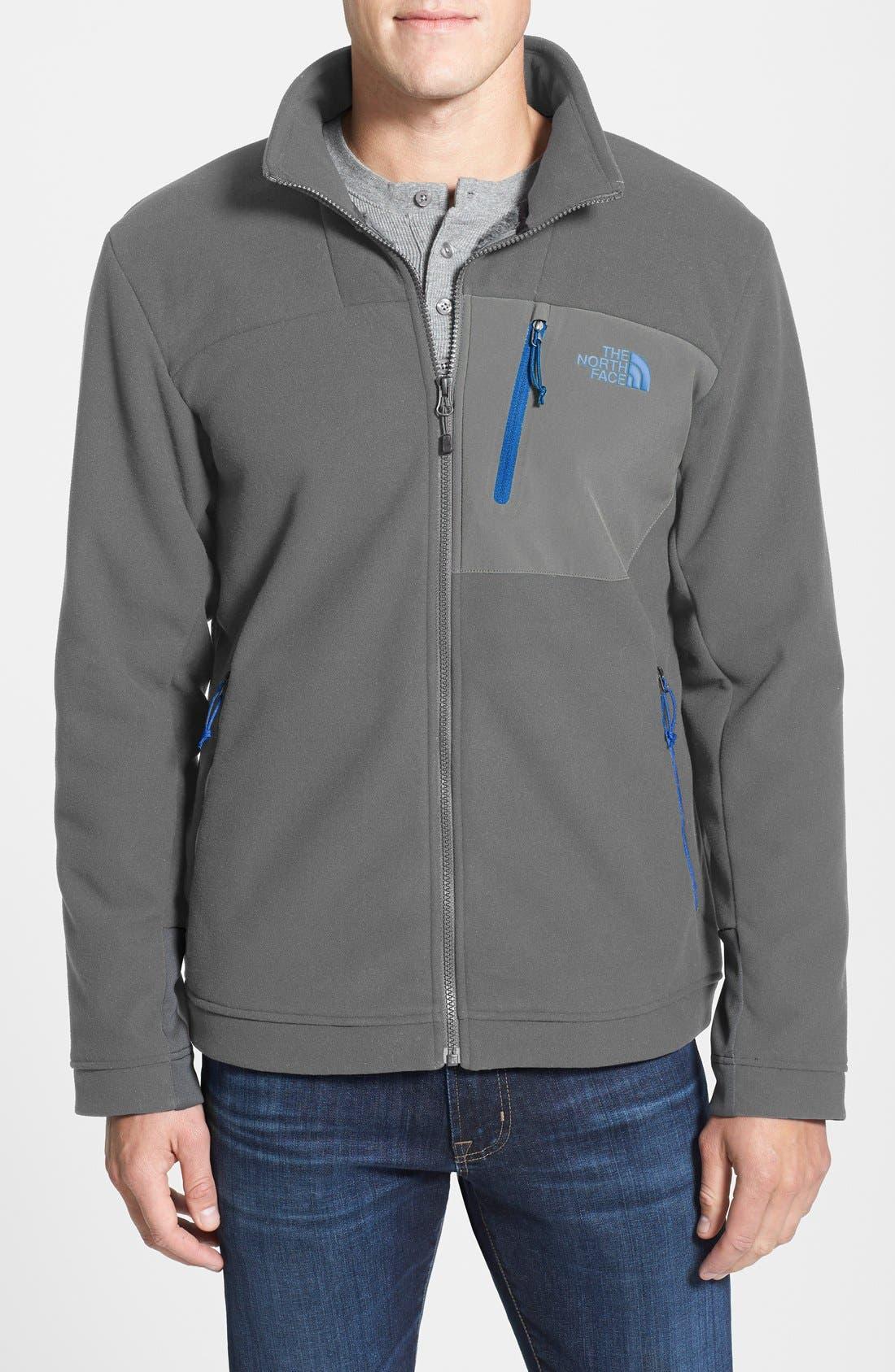 'Chimborazo' Zip Front Fleece Jacket,                             Main thumbnail 10, color,