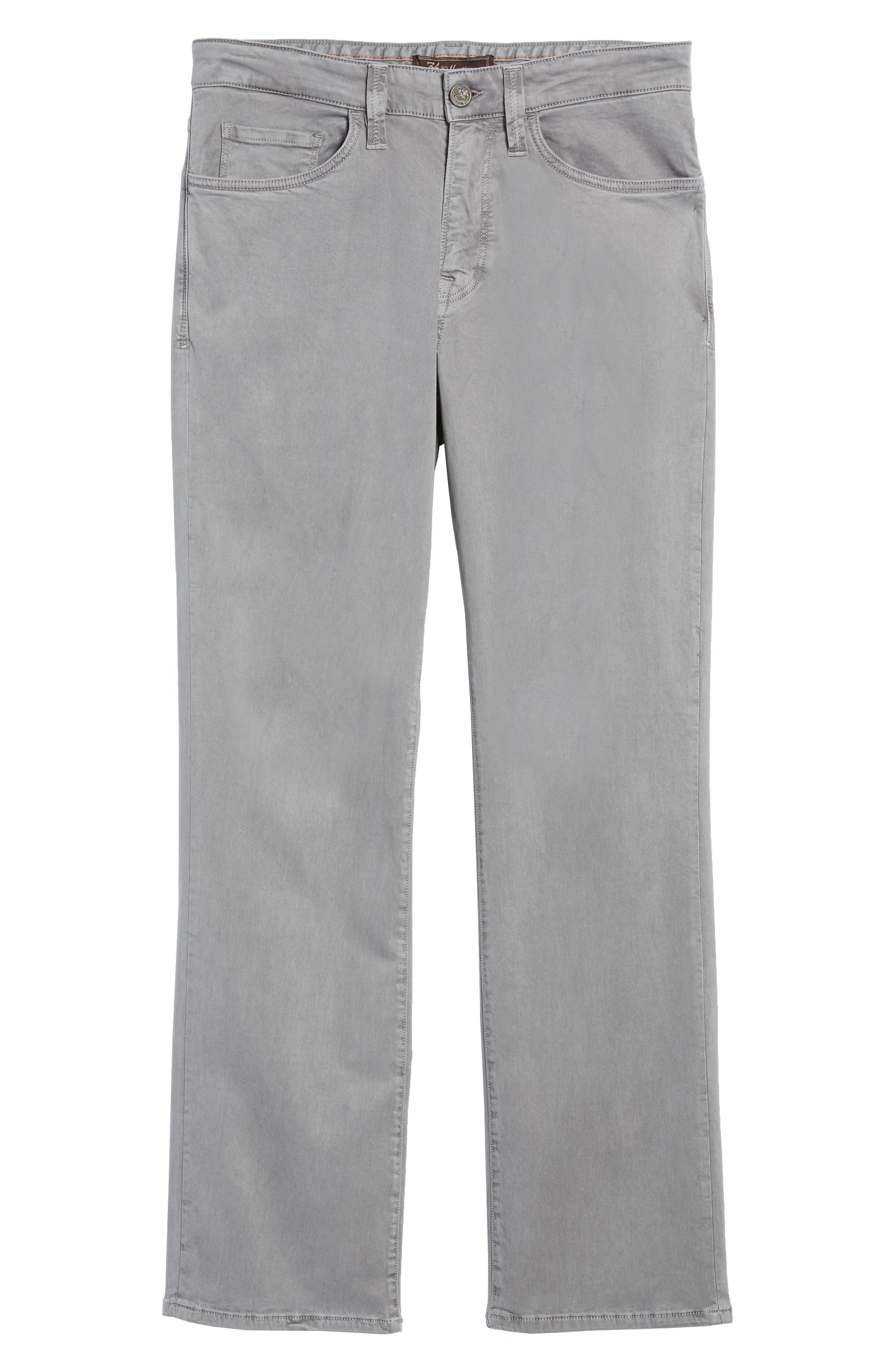 Charisma Relaxed Fit Twill Pants,                             Alternate thumbnail 6, color,                             SHARK TWILL