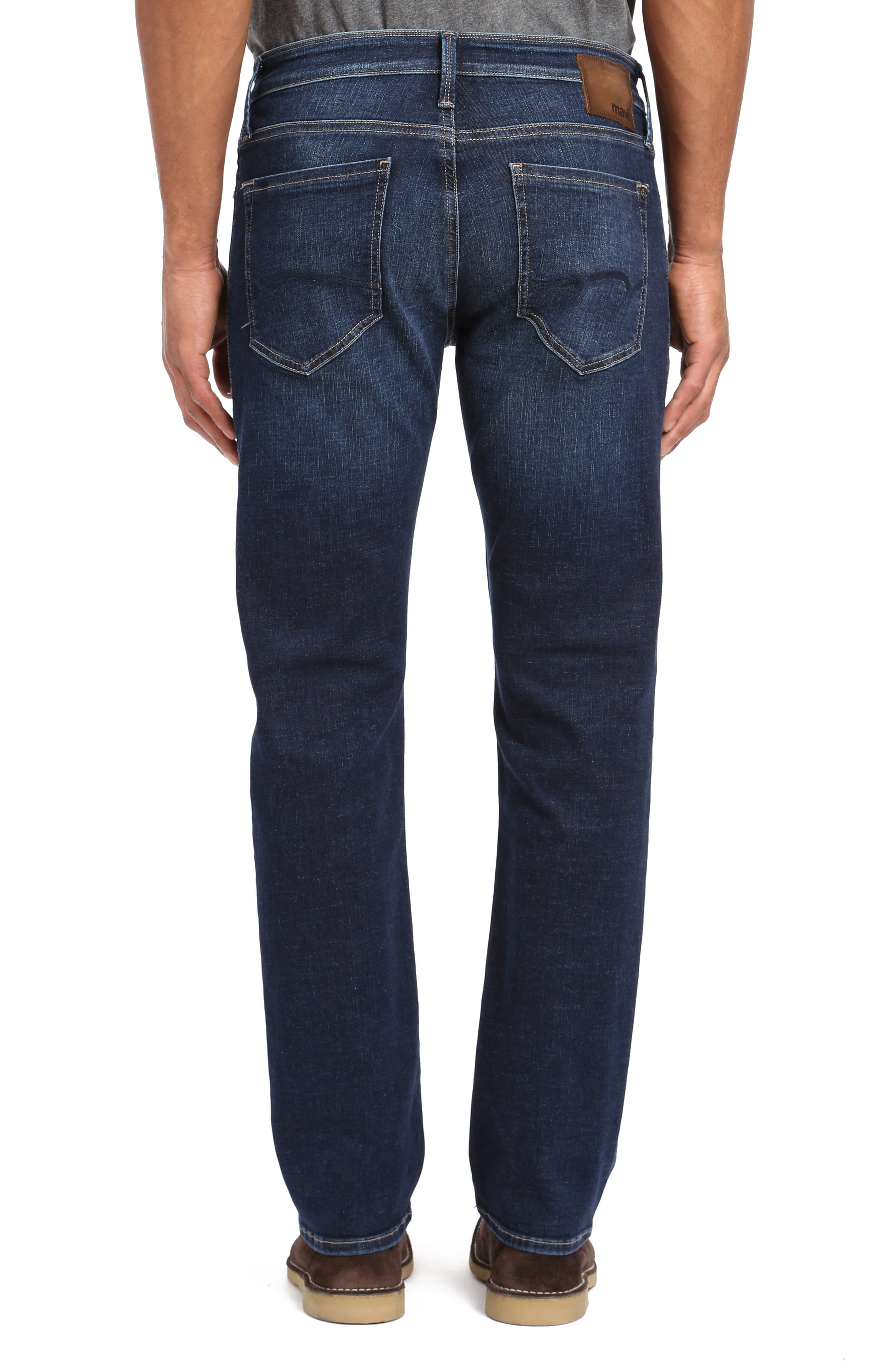 Marcus Slim Straight Leg Jeans,                             Alternate thumbnail 2, color,                             DEEP BRUSHED CASHMERE