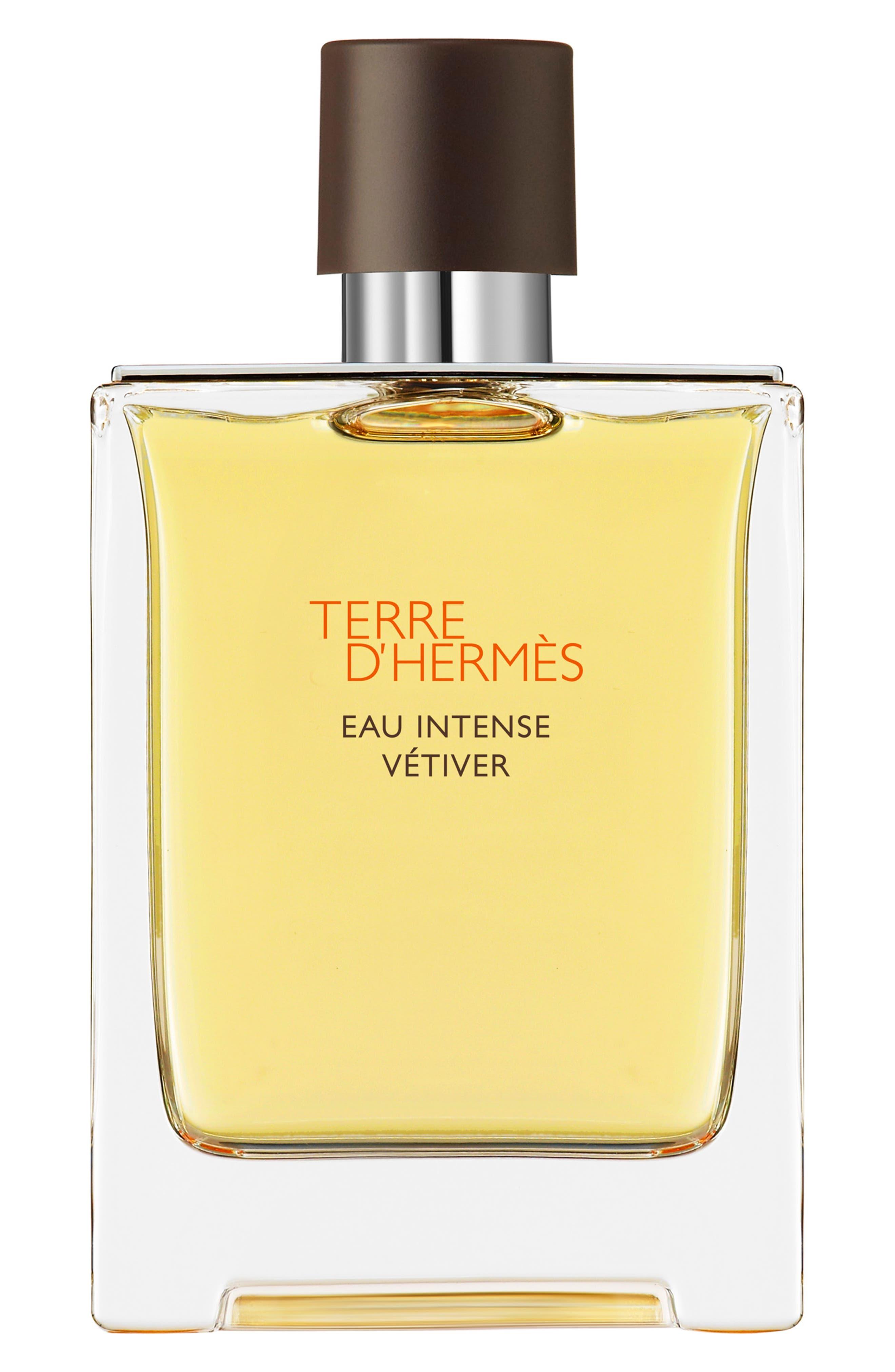 Terre d'Hermès Eau Intense Vétiver – Eau de parfum,                             Main thumbnail 1, color,                             NO COLOR
