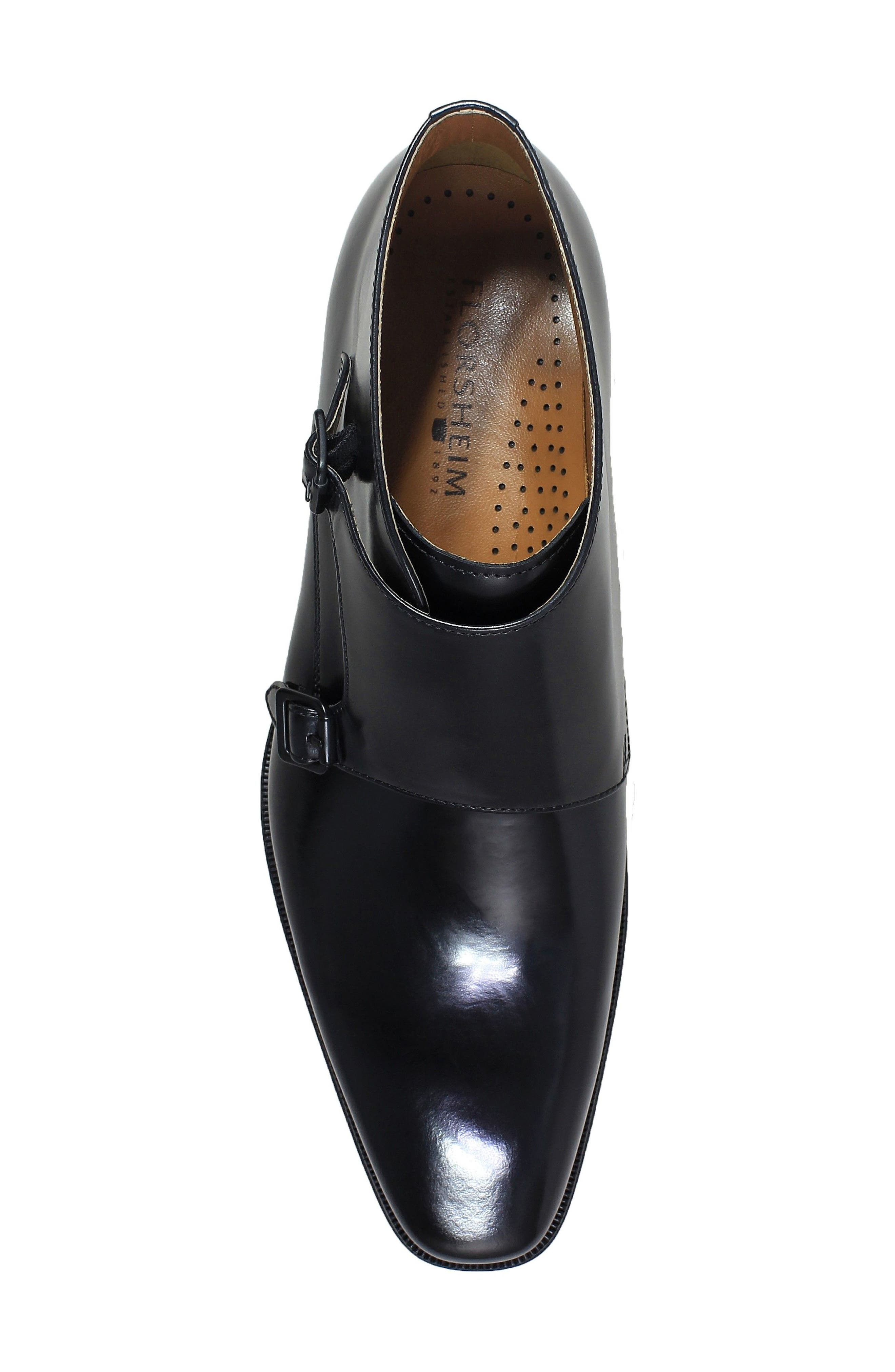 Belfast Double Monk Strap Boot,                             Alternate thumbnail 9, color,