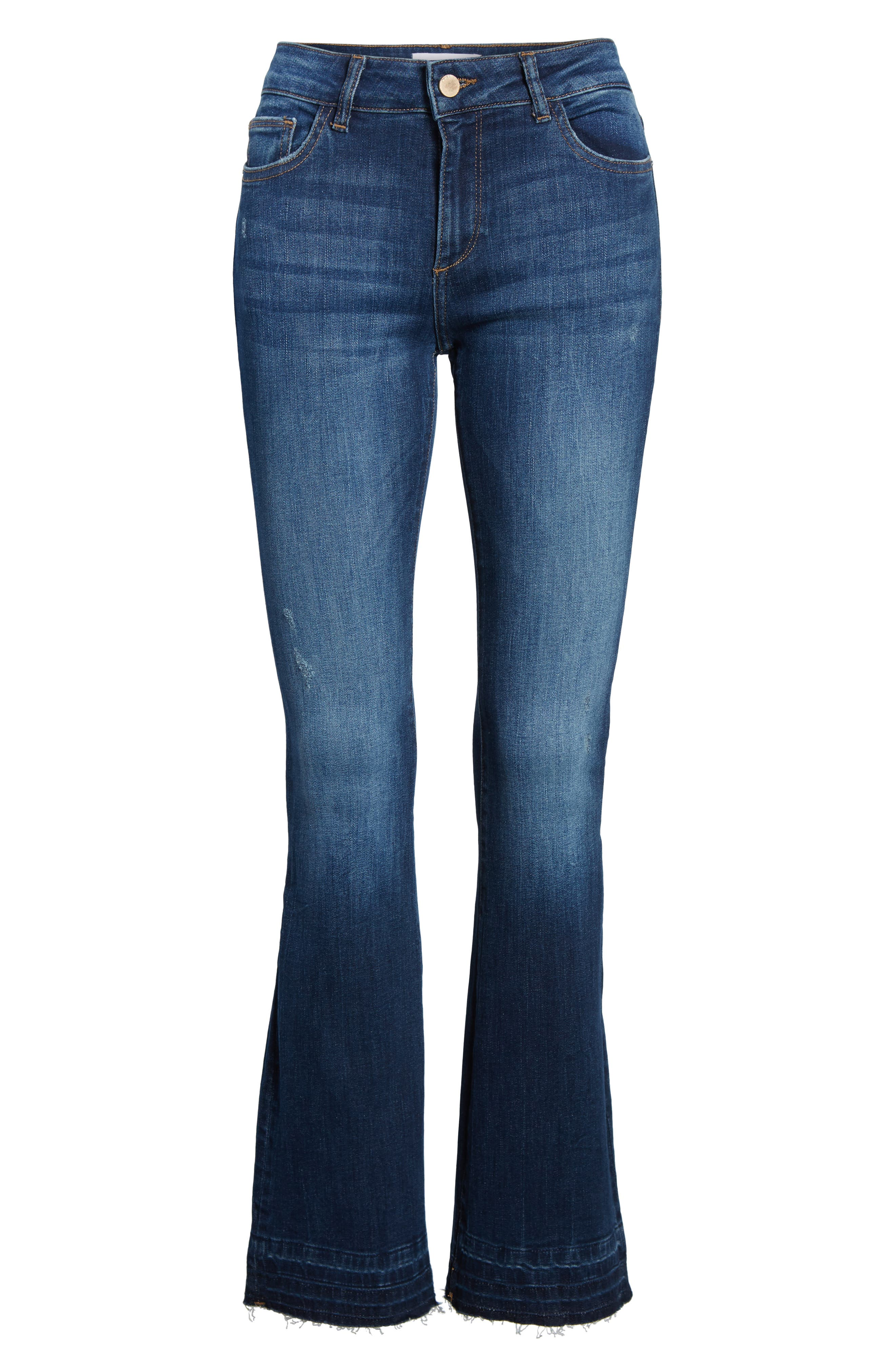 Bridget Instasculpt Bootcut Jeans,                             Alternate thumbnail 7, color,                             405
