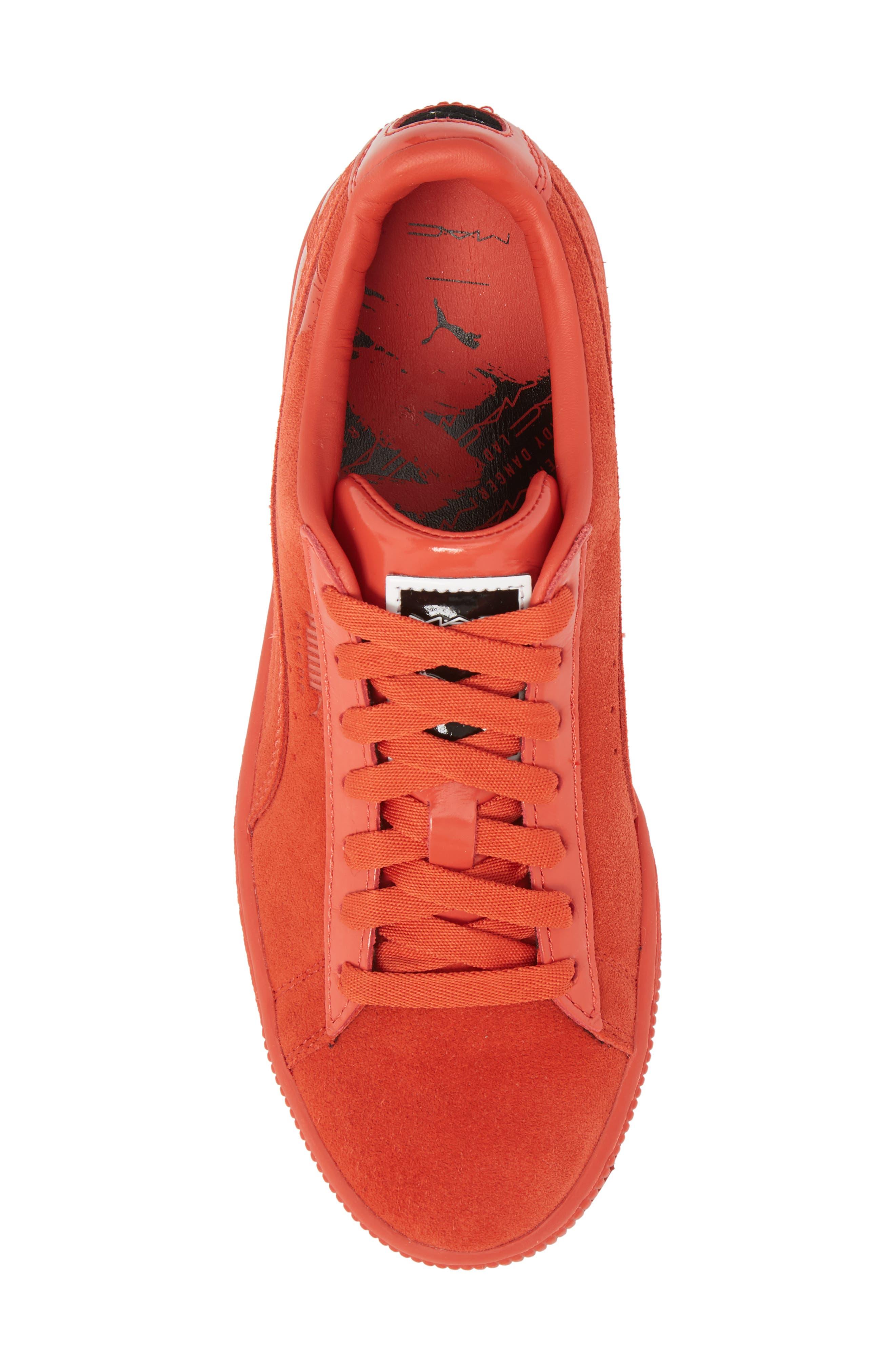 PUMA,                             x MAC ONE Suede Classic Sneaker,                             Alternate thumbnail 5, color,                             600