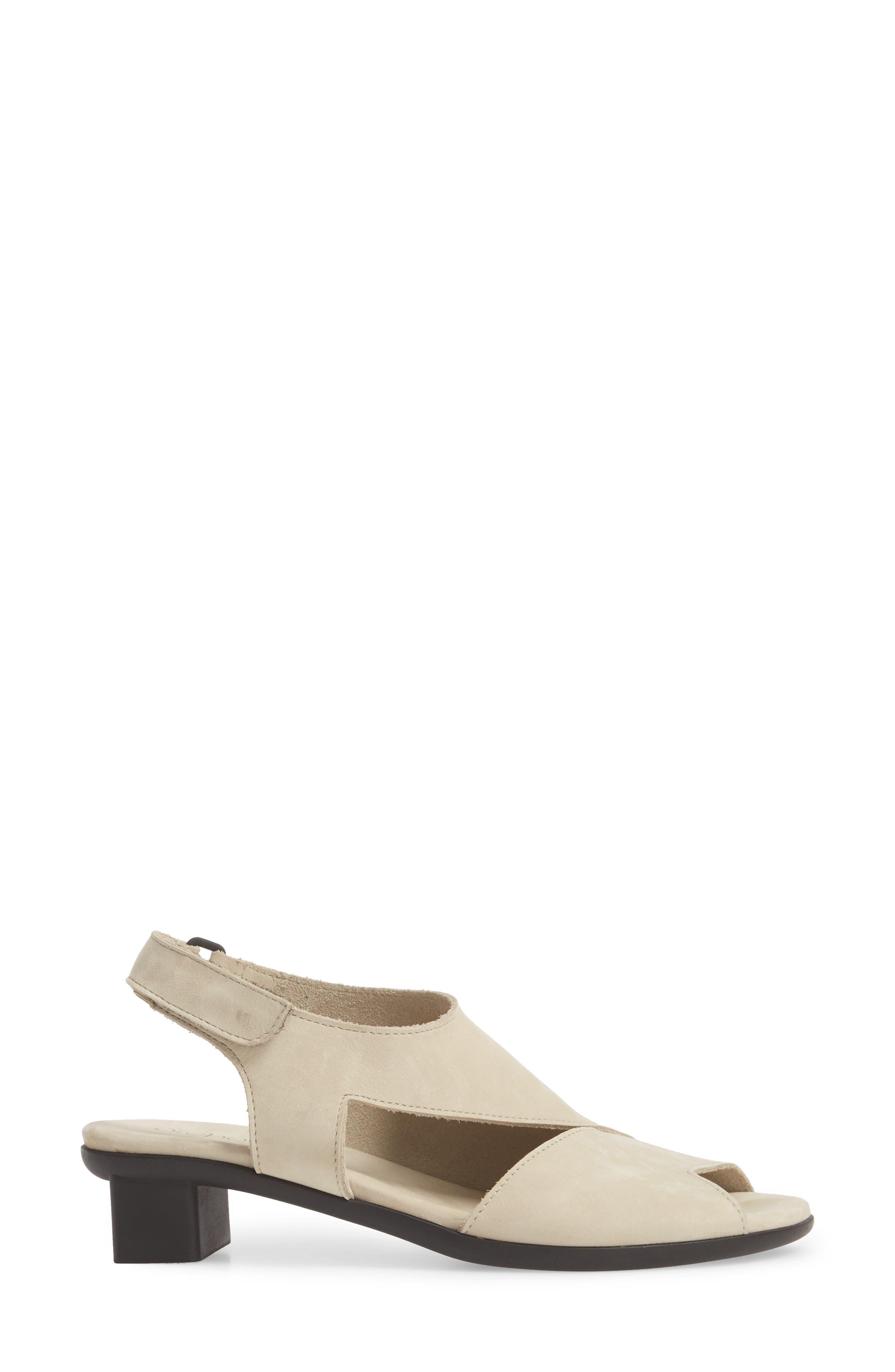 Obibbi Asymmetrical Slingback Sandal,                             Alternate thumbnail 6, color,