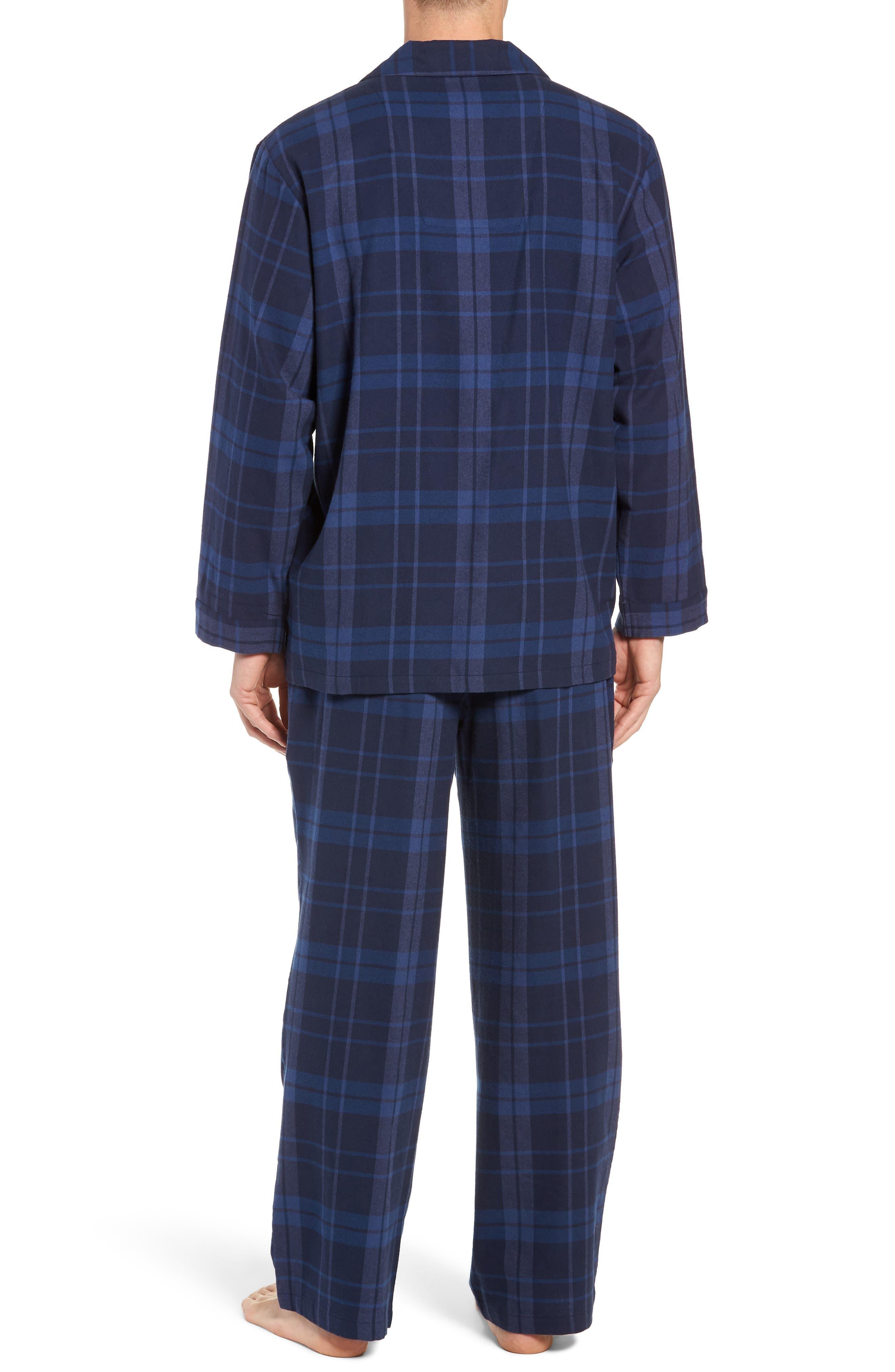 '824' Flannel Pajama Set,                             Alternate thumbnail 36, color,