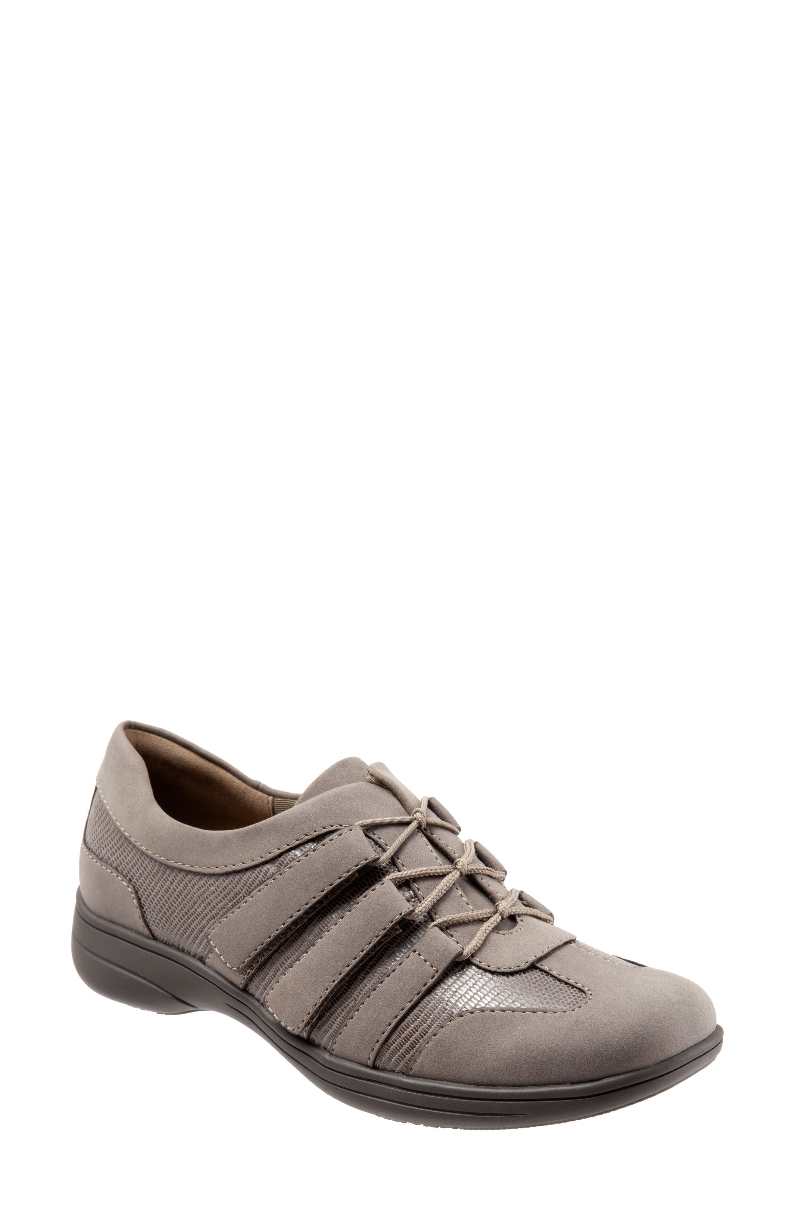 Joy Slip-On Sneaker,                         Main,                         color, TAUPE LEATHER