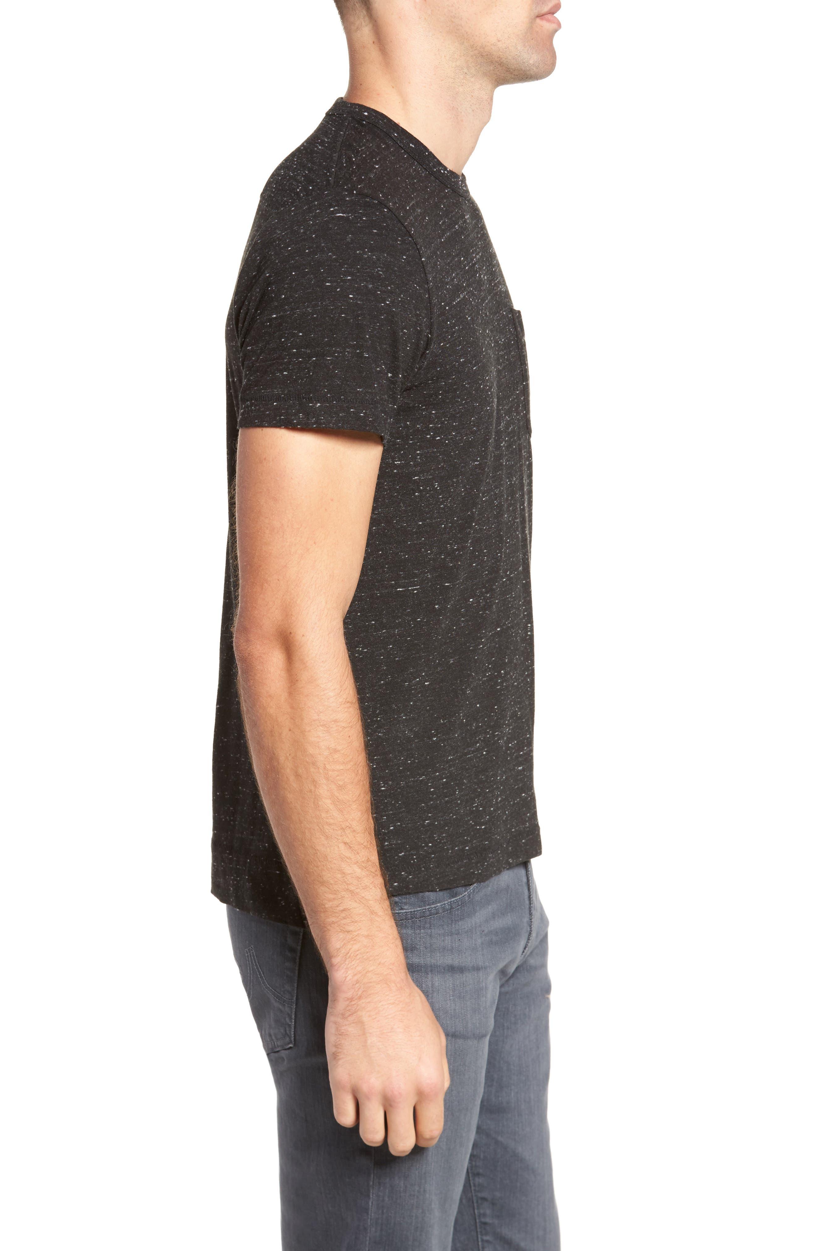 Granite Grindle Slim Fit T-Shirt,                             Alternate thumbnail 3, color,                             001