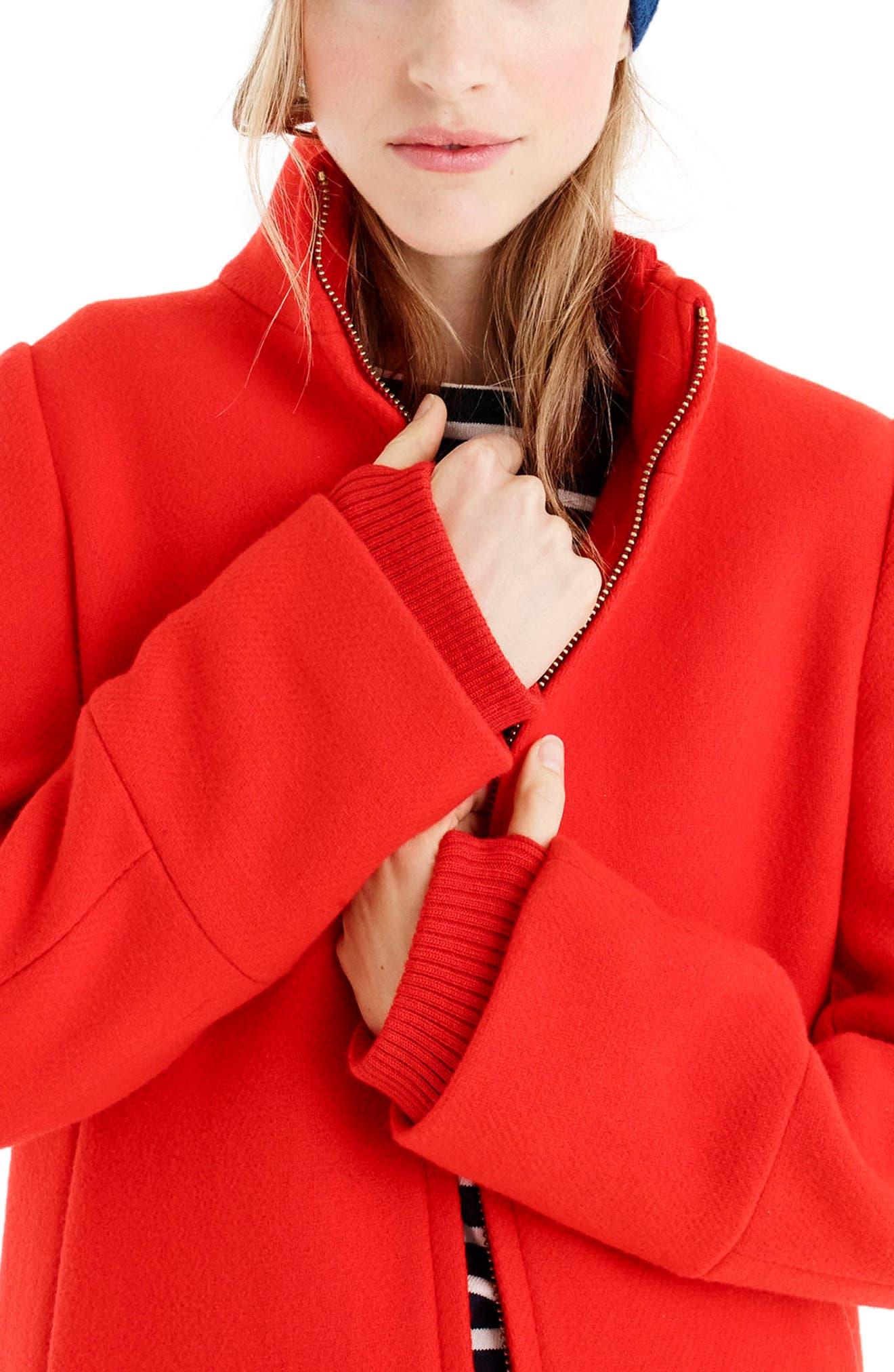 Yulia Wool Blend Coat,                             Alternate thumbnail 12, color,