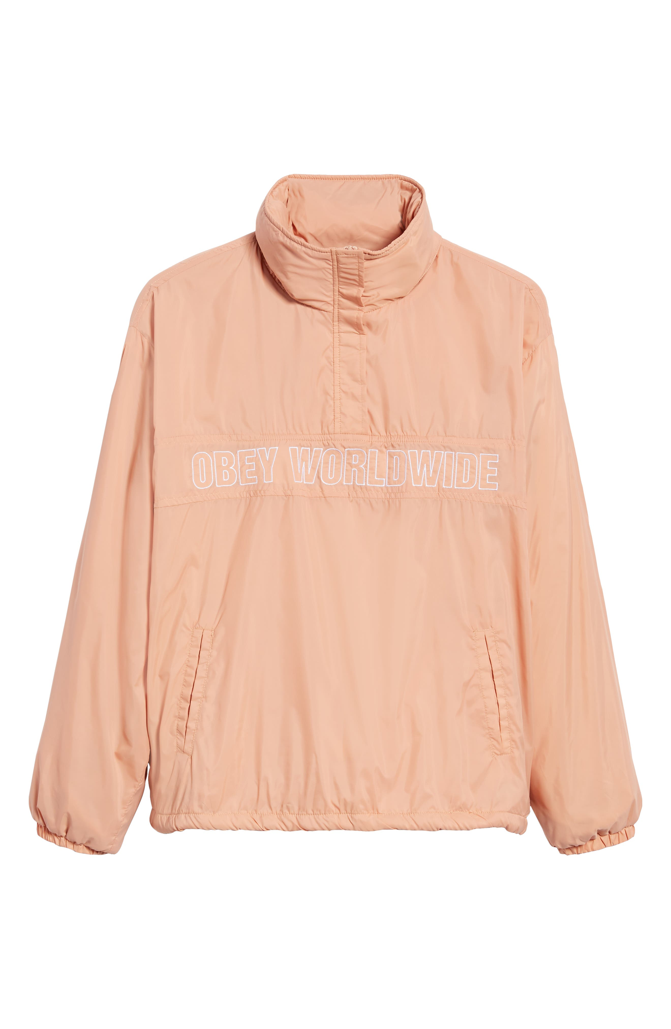 OBEY,                             Bunker Anorak,                             Alternate thumbnail 6, color,                             950