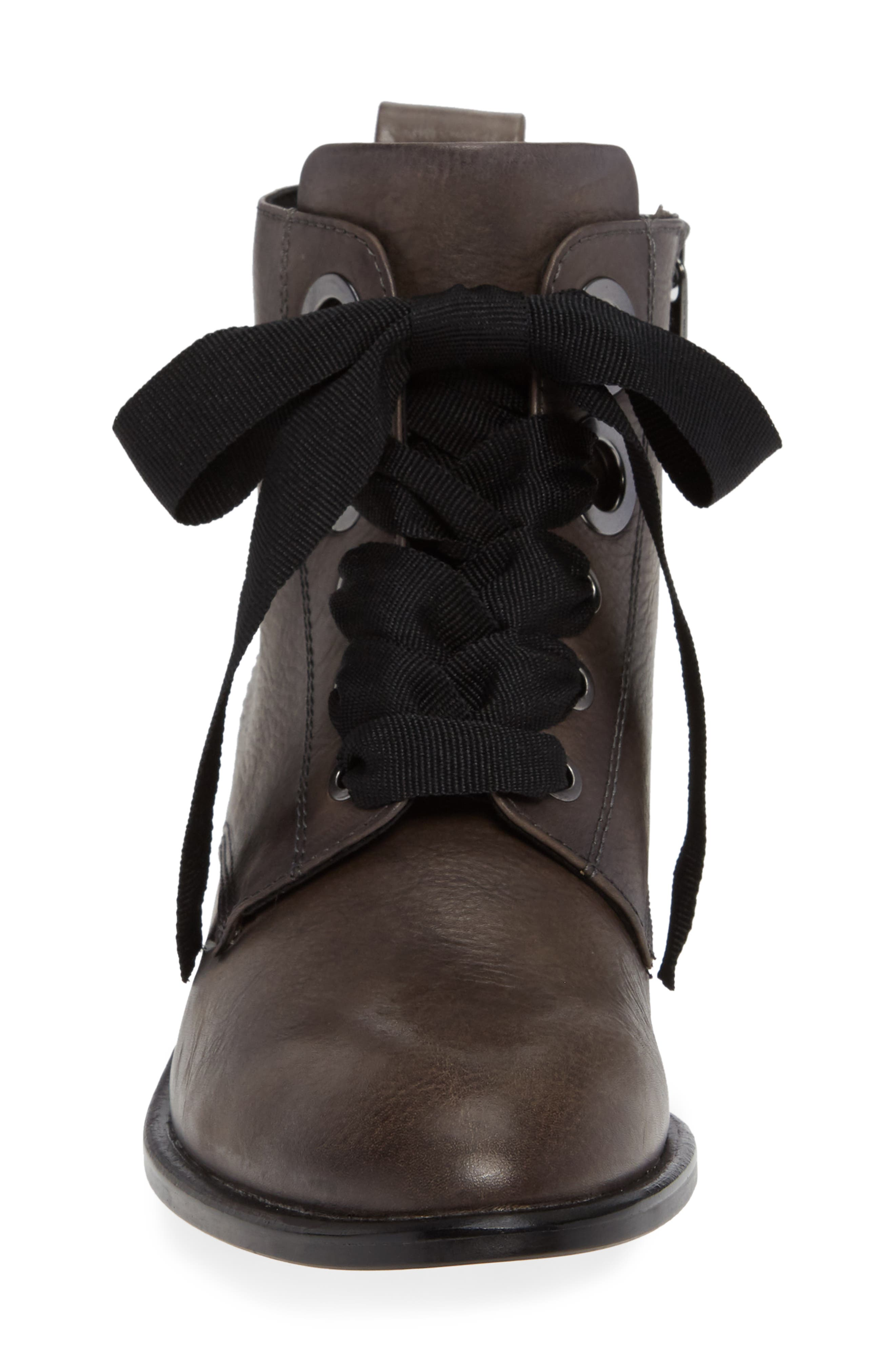 Tocina Bootie,                             Alternate thumbnail 4, color,                             PAVEMENT LEATHER
